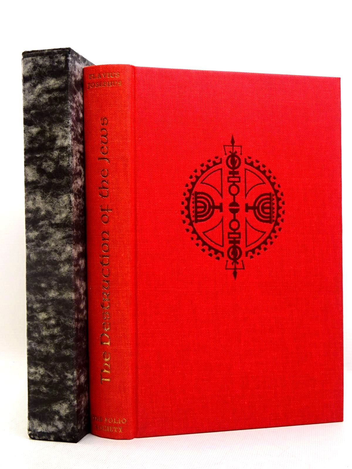 Photo of THE DESTRUCTION OF THE JEWS written by Josephus, Flavius<br />Williamson, G.A. illustrated by Palmer, Garrick published by Folio Society (STOCK CODE: 2128025)  for sale by Stella & Rose's Books