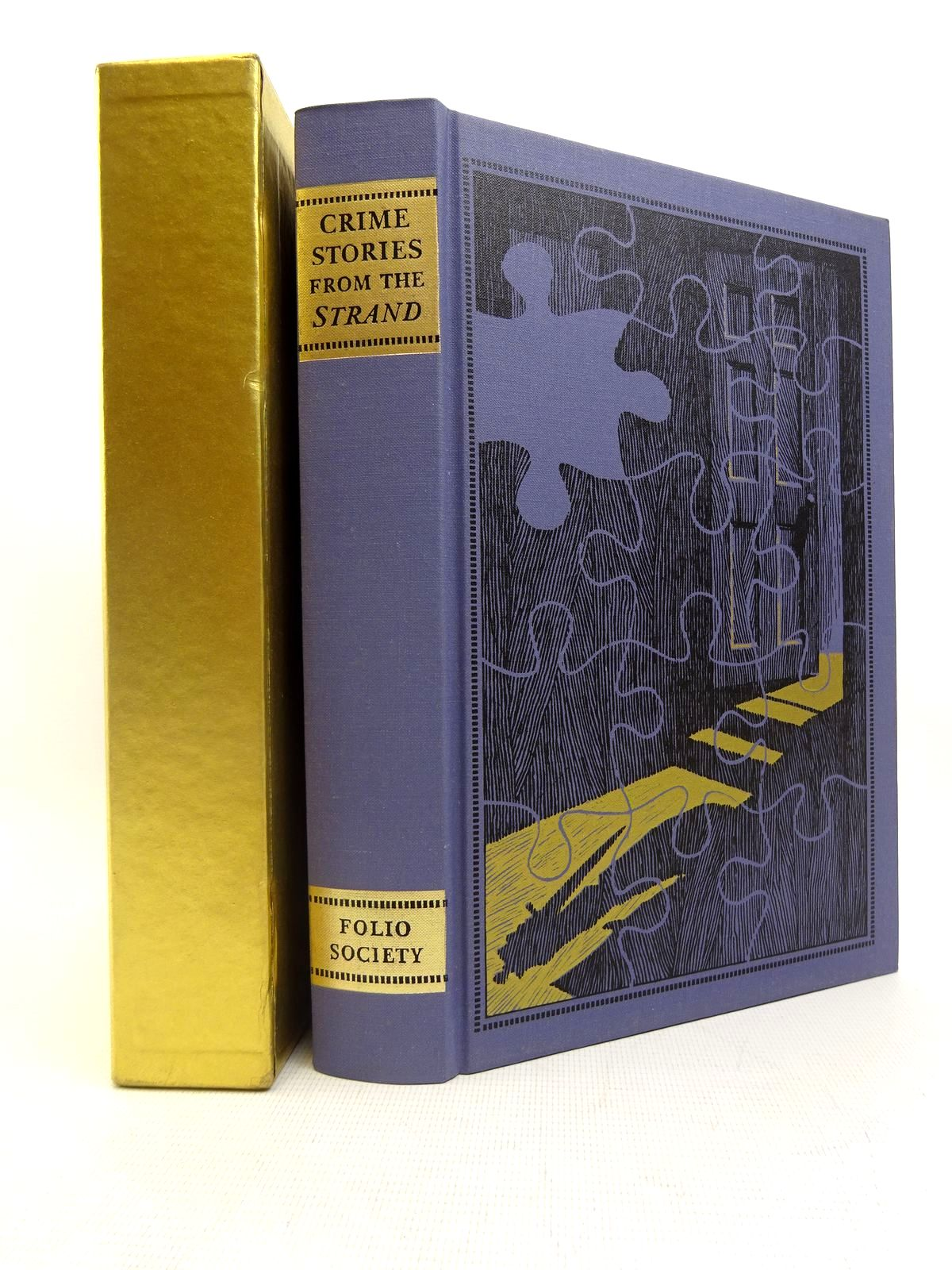 Photo of CRIME STORIES FROM THE 'STRAND' written by Beare, Geraldine<br />Keating, H.R.F. illustrated by Eccles, David published by Folio Society (STOCK CODE: 2128033)  for sale by Stella & Rose's Books