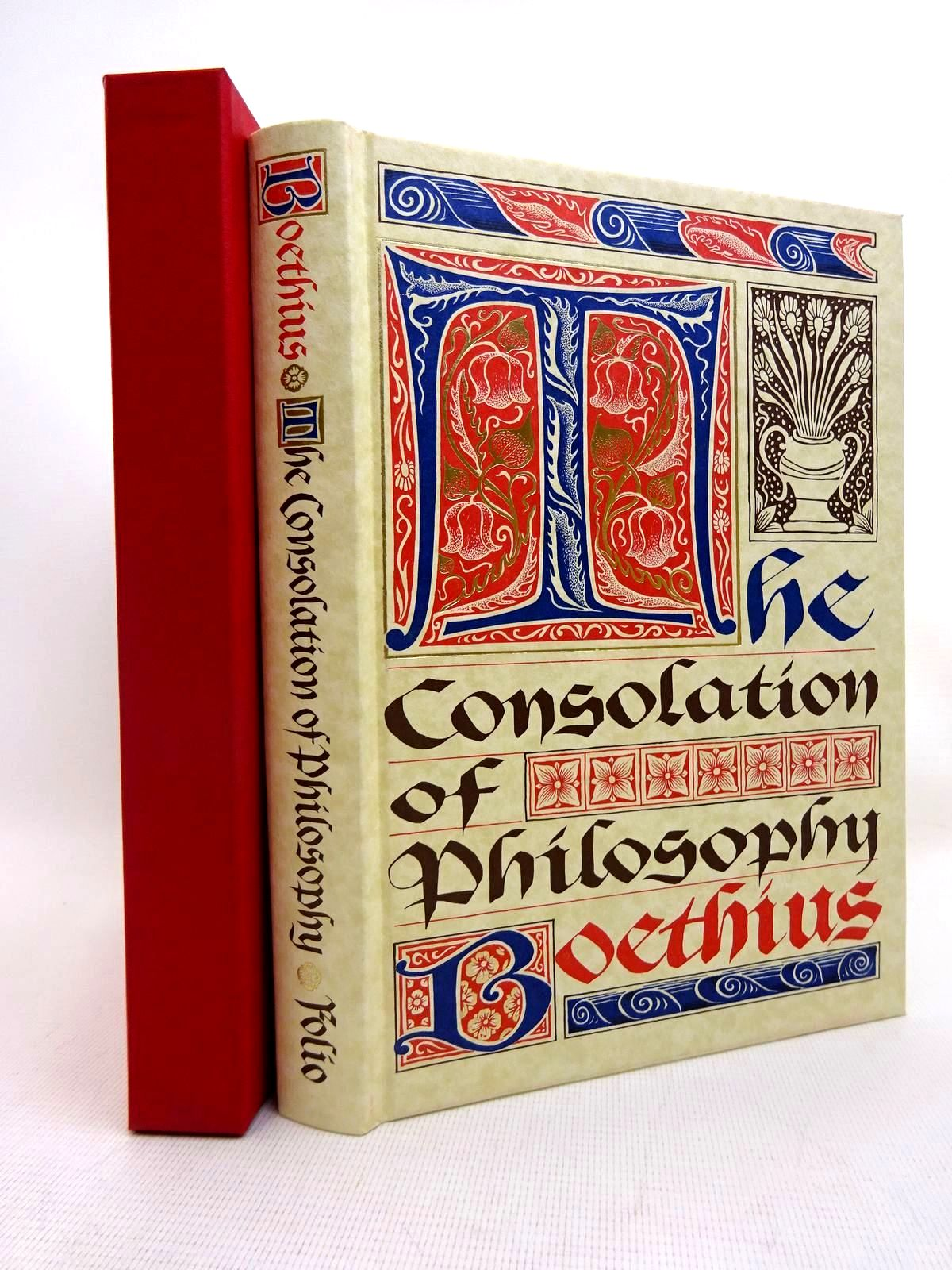 Photo of THE CONSOLATION OF PHILOSOPHY written by Boethius, <br />Watts, V.E. published by Folio Society (STOCK CODE: 2128034)  for sale by Stella & Rose's Books
