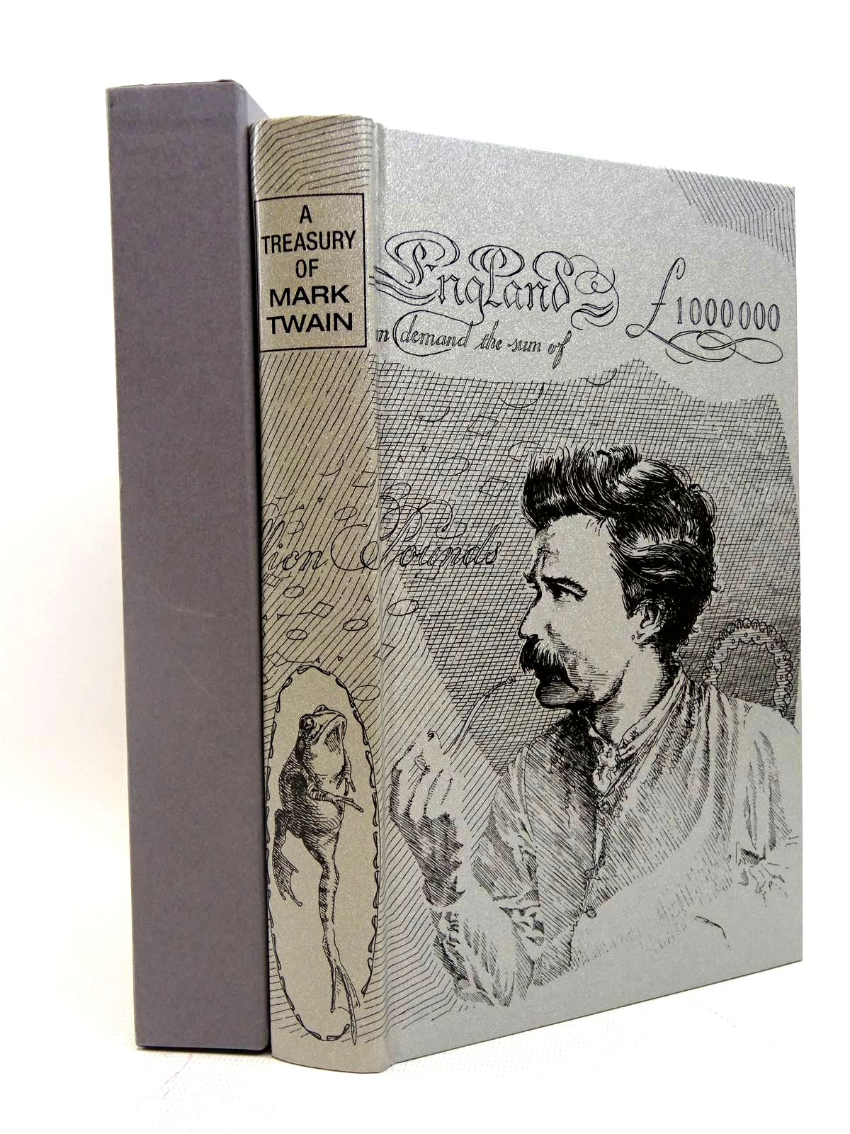 Photo of A TREASURY OF MARK TWAIN written by Twain, Mark illustrated by Waters, Rod published by Folio Society (STOCK CODE: 2128039)  for sale by Stella & Rose's Books