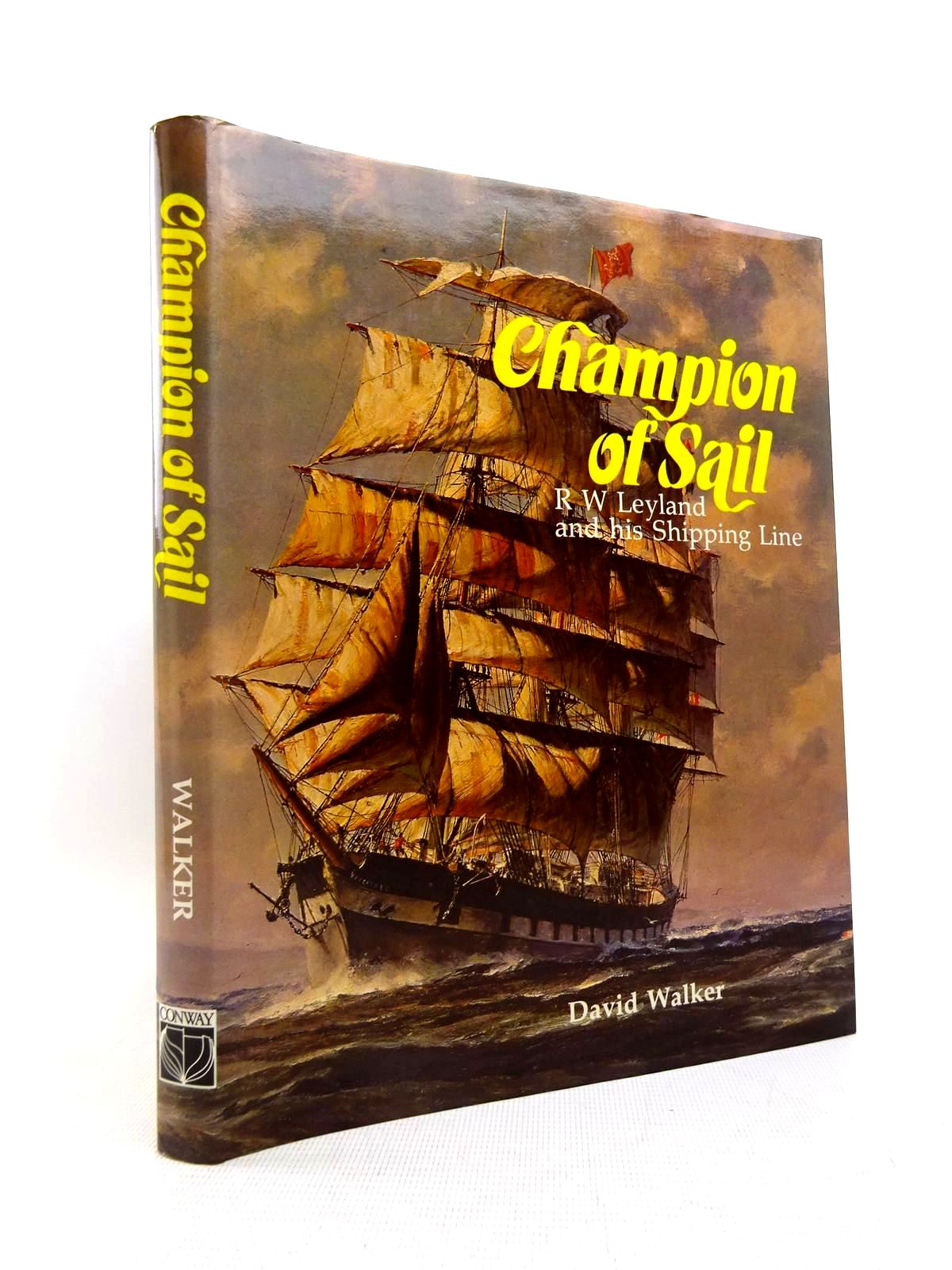 Photo of CHAMPION OF SAIL written by Walker, David published by Conway Maritime Press (STOCK CODE: 2128041)  for sale by Stella & Rose's Books
