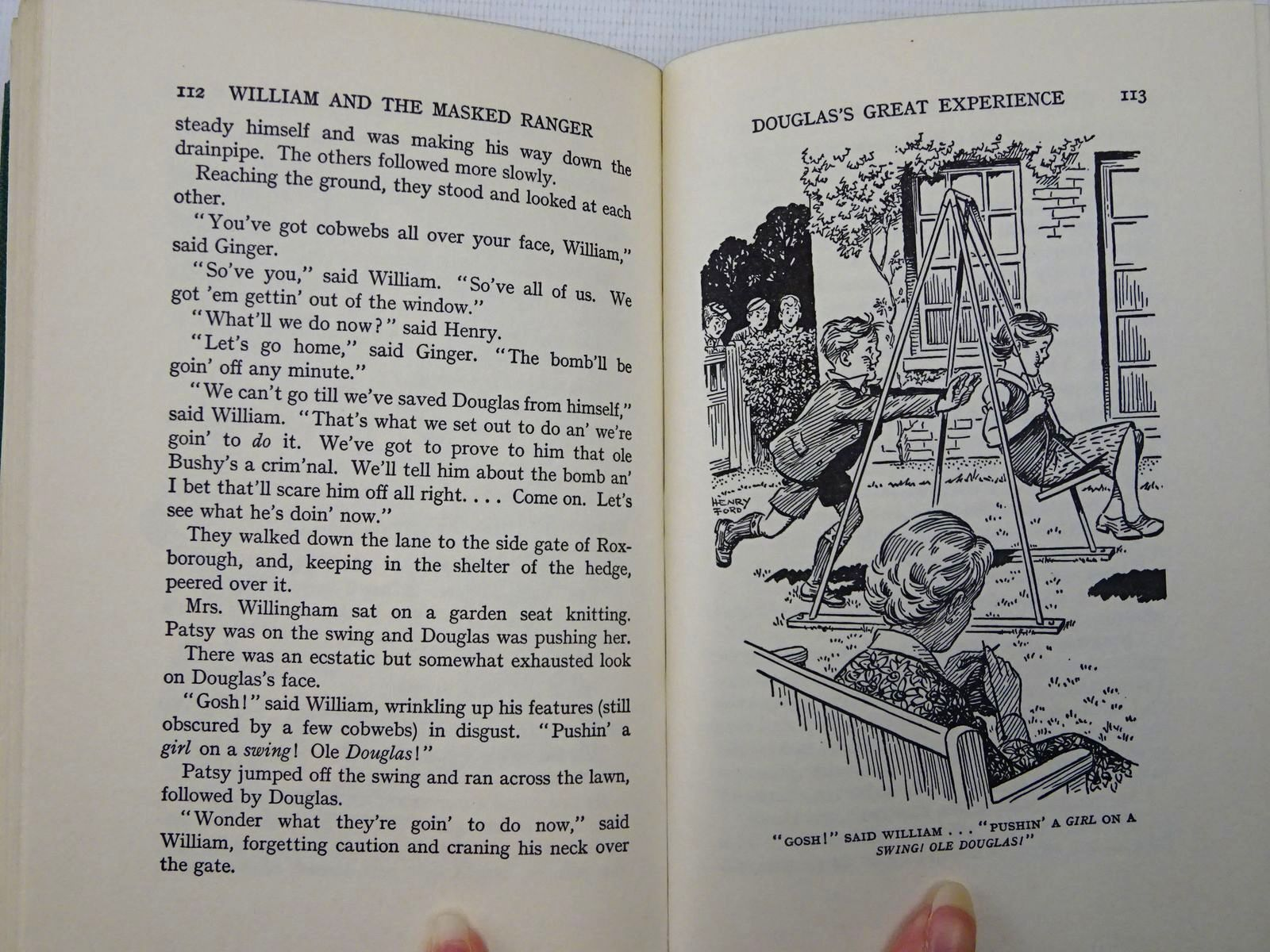 Photo of WILLIAM AND THE MASKED RANGER written by Crompton, Richmal illustrated by Ford, Henry published by George Newnes Ltd. (STOCK CODE: 2128070)  for sale by Stella & Rose's Books