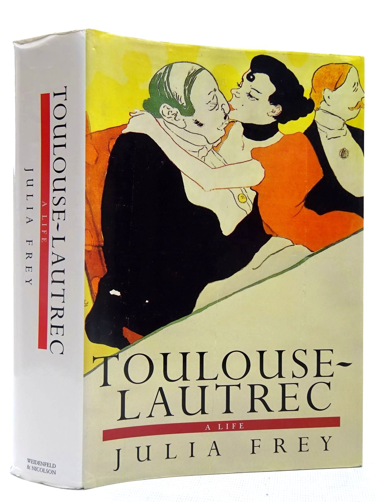 Photo of TOULOUSE-LAUTREC A LIFE written by Frey, Julia illustrated by Toulouse-Lautrec, Henri published by Weidenfeld and Nicolson (STOCK CODE: 2128084)  for sale by Stella & Rose's Books