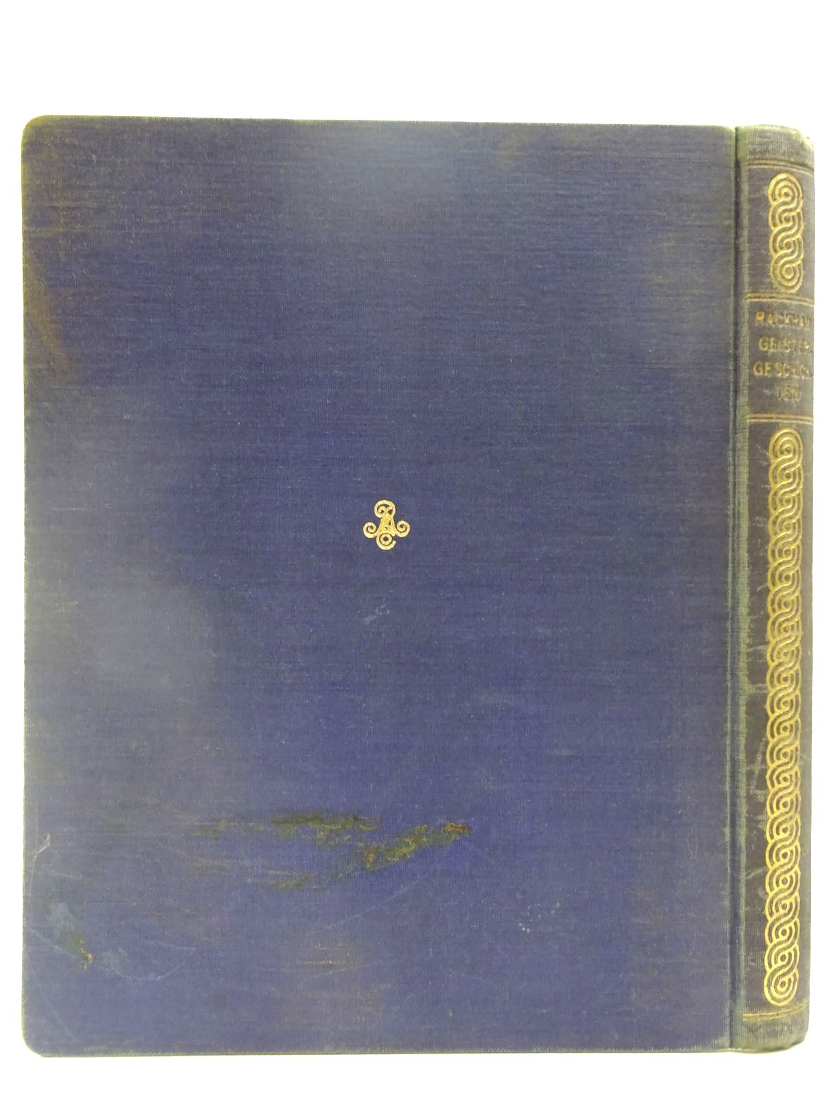 Photo of GEISTERGESCHICHTEN written by Hauff, Wilhelm<br />Wells, H.G.<br />et al, illustrated by Rackham, Arthur published by Rascher & Cie (STOCK CODE: 2128139)  for sale by Stella & Rose's Books