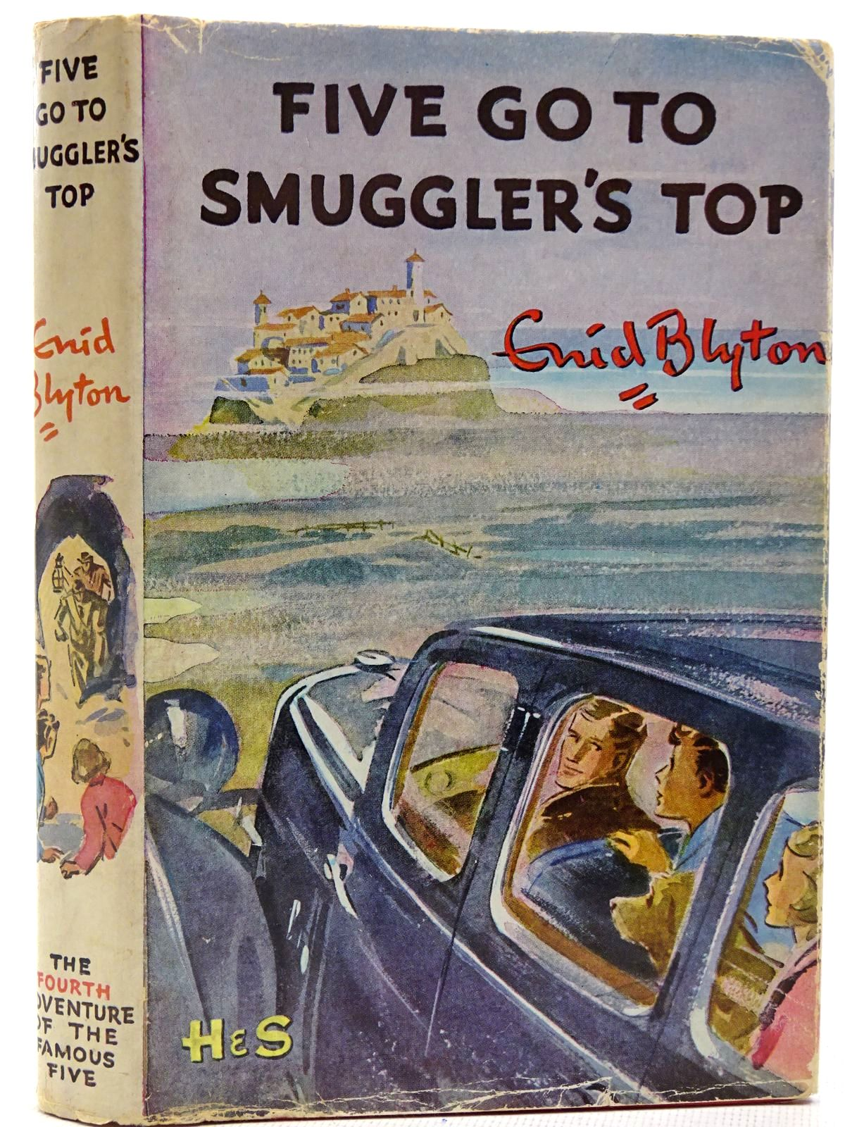 Photo of FIVE GO TO SMUGGLER'S TOP written by Blyton, Enid illustrated by Soper, Eileen published by Brockhampton Press (STOCK CODE: 2128175)  for sale by Stella & Rose's Books