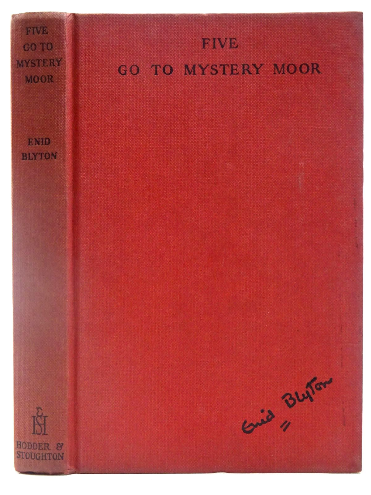 Photo of FIVE GO TO MYSTERY MOOR written by Blyton, Enid illustrated by Soper, Eileen published by Hodder & Stoughton (STOCK CODE: 2128176)  for sale by Stella & Rose's Books