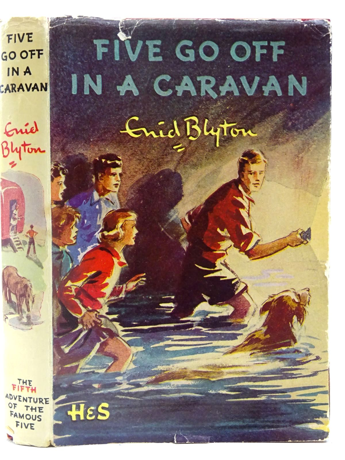 Photo of FIVE GO OFF IN A CARAVAN written by Blyton, Enid illustrated by Soper, Eileen published by Hodder & Stoughton (STOCK CODE: 2128182)  for sale by Stella & Rose's Books