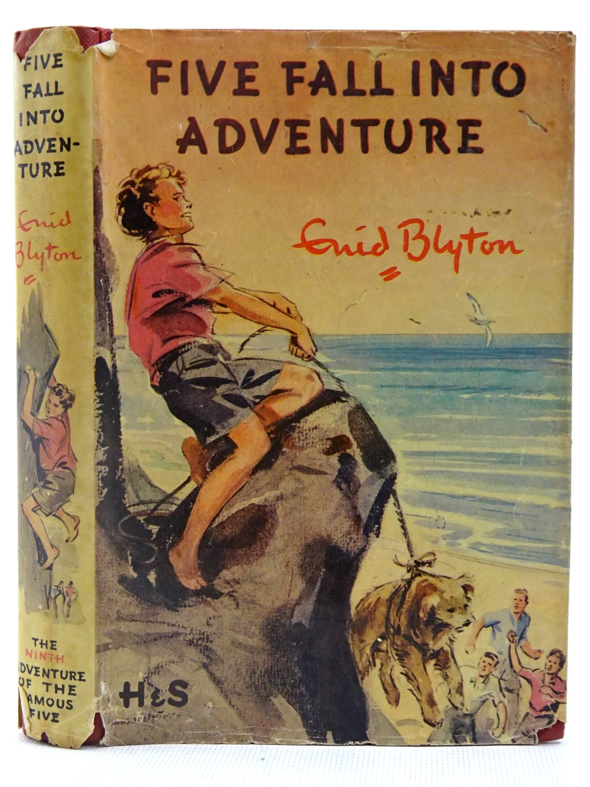 Photo of FIVE FALL INTO ADVENTURE written by Blyton, Enid illustrated by Soper, Eileen published by Hodder & Stoughton (STOCK CODE: 2128185)  for sale by Stella & Rose's Books