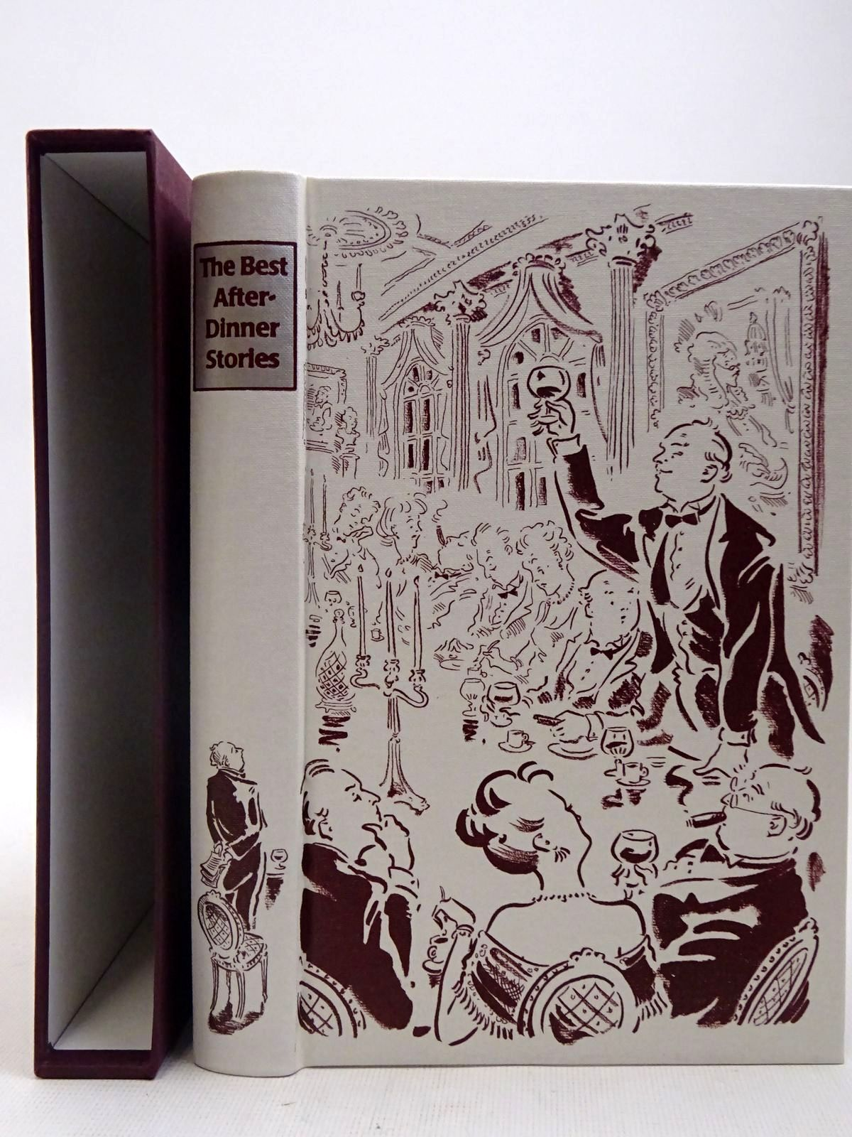 Photo of THE BEST AFTER-DINNER STORIES written by Heald, Tim illustrated by Cox, Paul published by Folio Society (STOCK CODE: 2128187)  for sale by Stella & Rose's Books