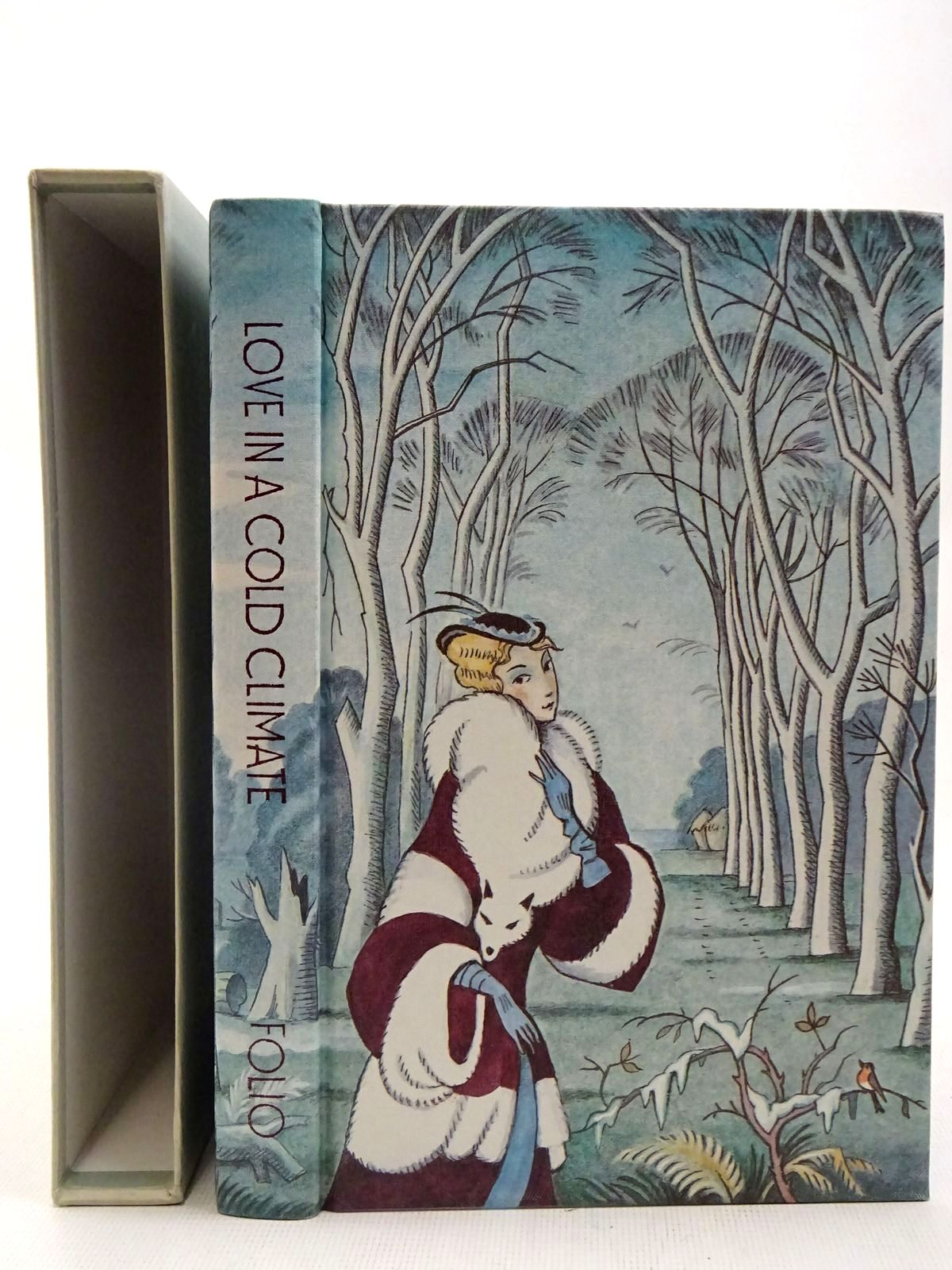 Photo of LOVE IN A COLD CLIMATE written by Mitford, Nancy illustrated by Pym, Roland published by Folio Society (STOCK CODE: 2128193)  for sale by Stella & Rose's Books