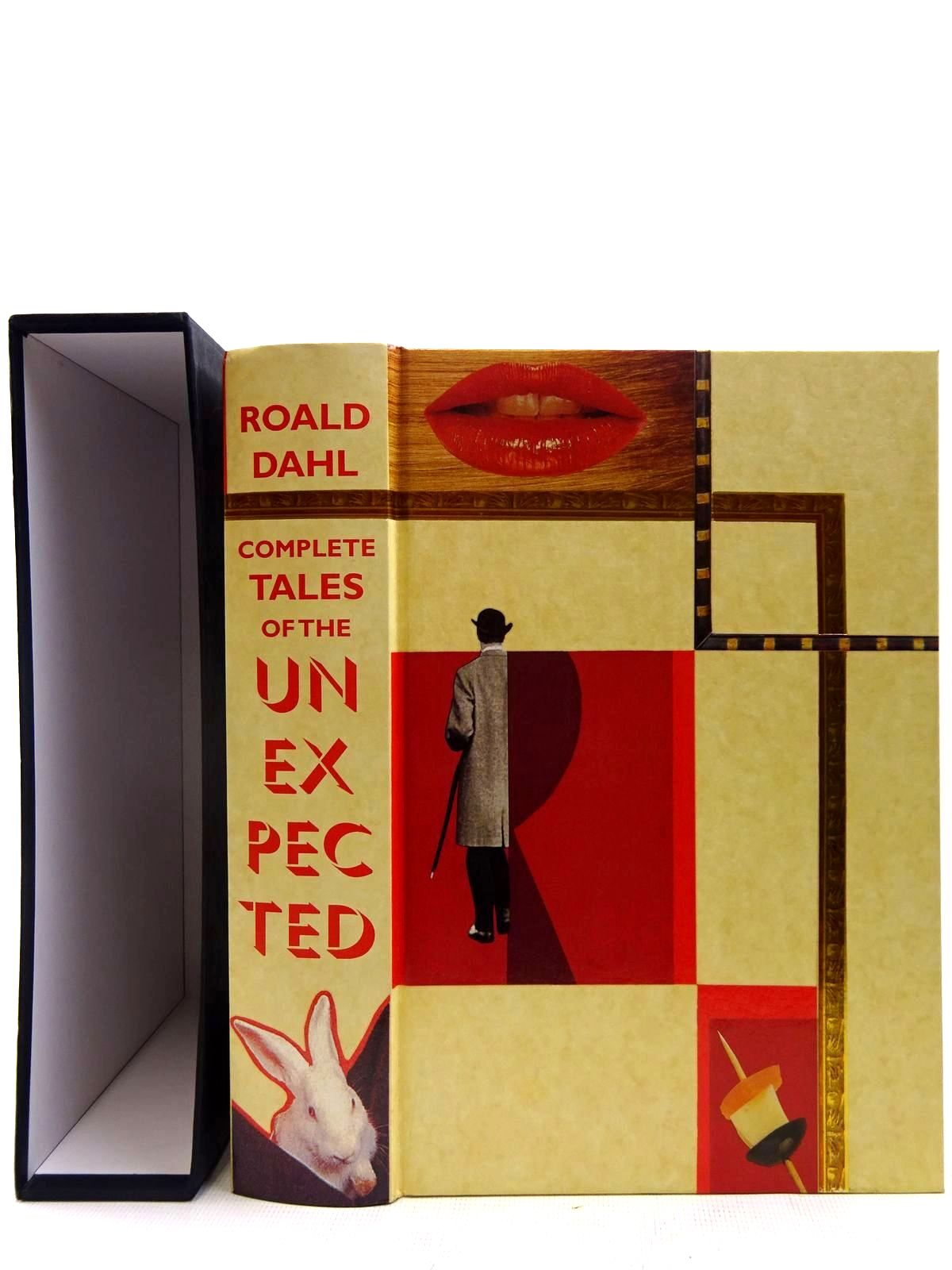 Photo of THE COMPLETE TALES OF THE UNEXPECTED AND OTHER STORIES written by Dahl, Roald illustrated by Smithson, Helen published by Folio Society (STOCK CODE: 2128205)  for sale by Stella & Rose's Books