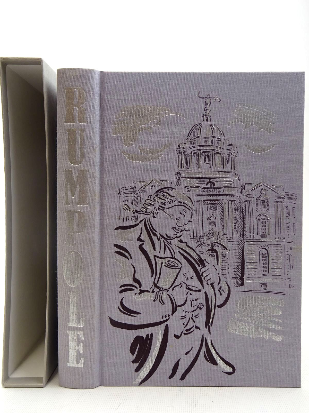 Photo of RUMPOLE written by Mortimer, John illustrated by Cox, Paul published by Folio Society (STOCK CODE: 2128214)  for sale by Stella & Rose's Books