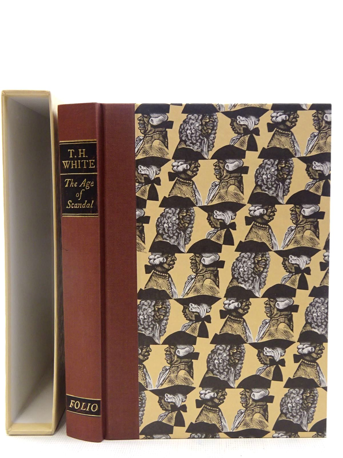Photo of THE AGE OF SCANDAL AN EXCURSION THROUGH A MINOR PERIOD written by White, T.H. published by Folio Society (STOCK CODE: 2128216)  for sale by Stella & Rose's Books