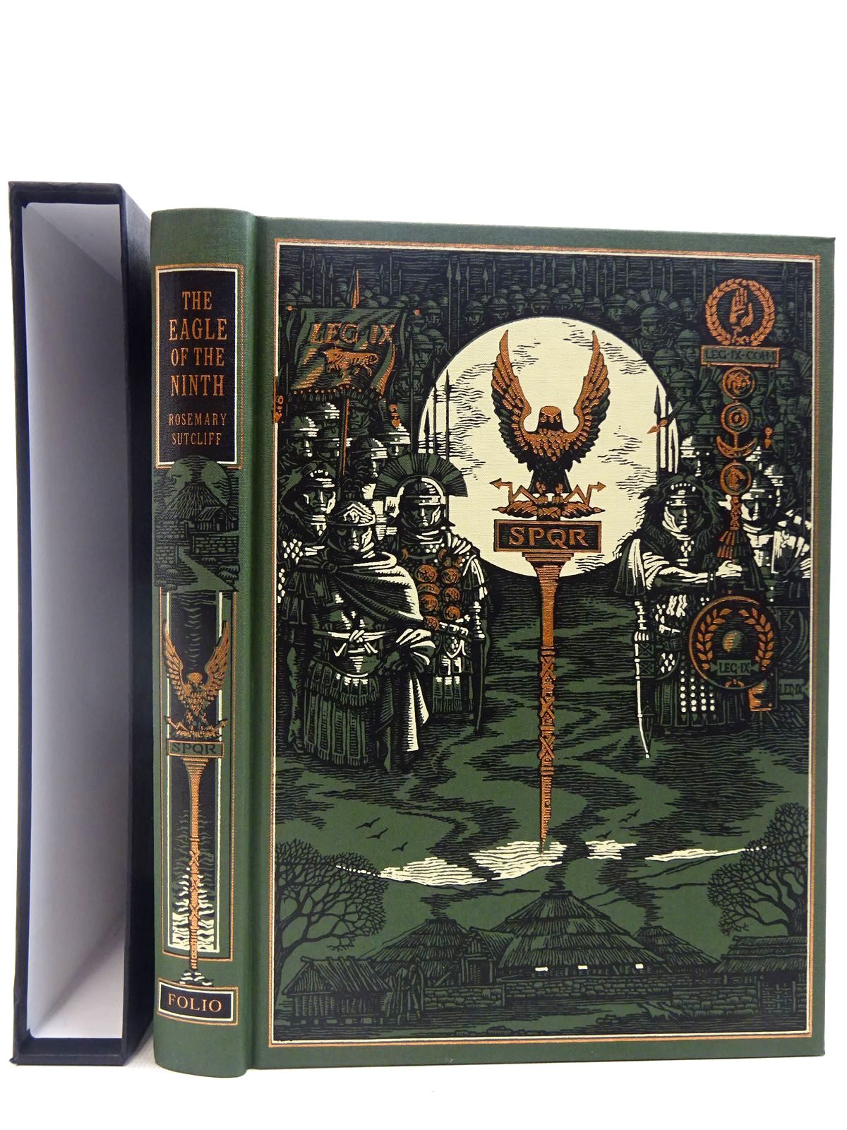 Photo of THE EAGLE OF THE NINTH written by Sutcliff, Rosemary illustrated by Pisarev, Roman published by Folio Society (STOCK CODE: 2128218)  for sale by Stella & Rose's Books