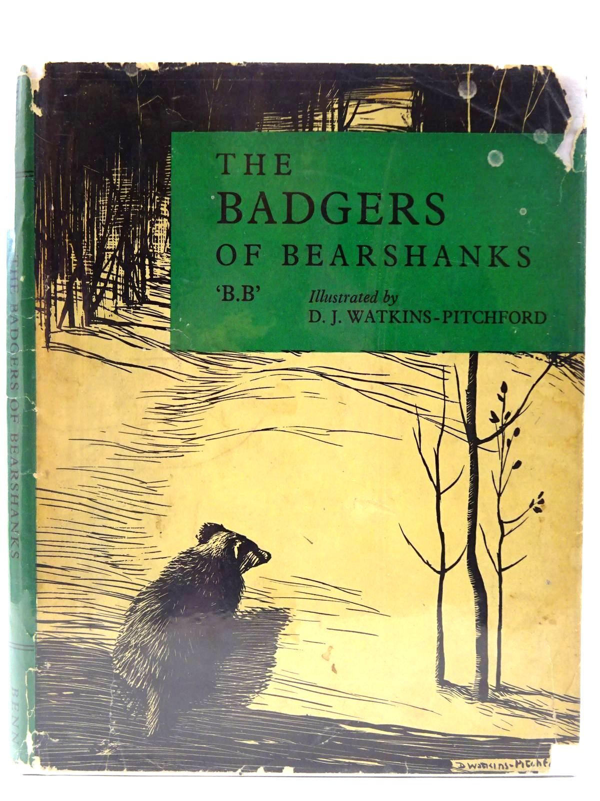 Photo of THE BADGERS OF BEARSHANKS written by BB,  illustrated by BB,  published by Ernest Benn Limited (STOCK CODE: 2128223)  for sale by Stella & Rose's Books