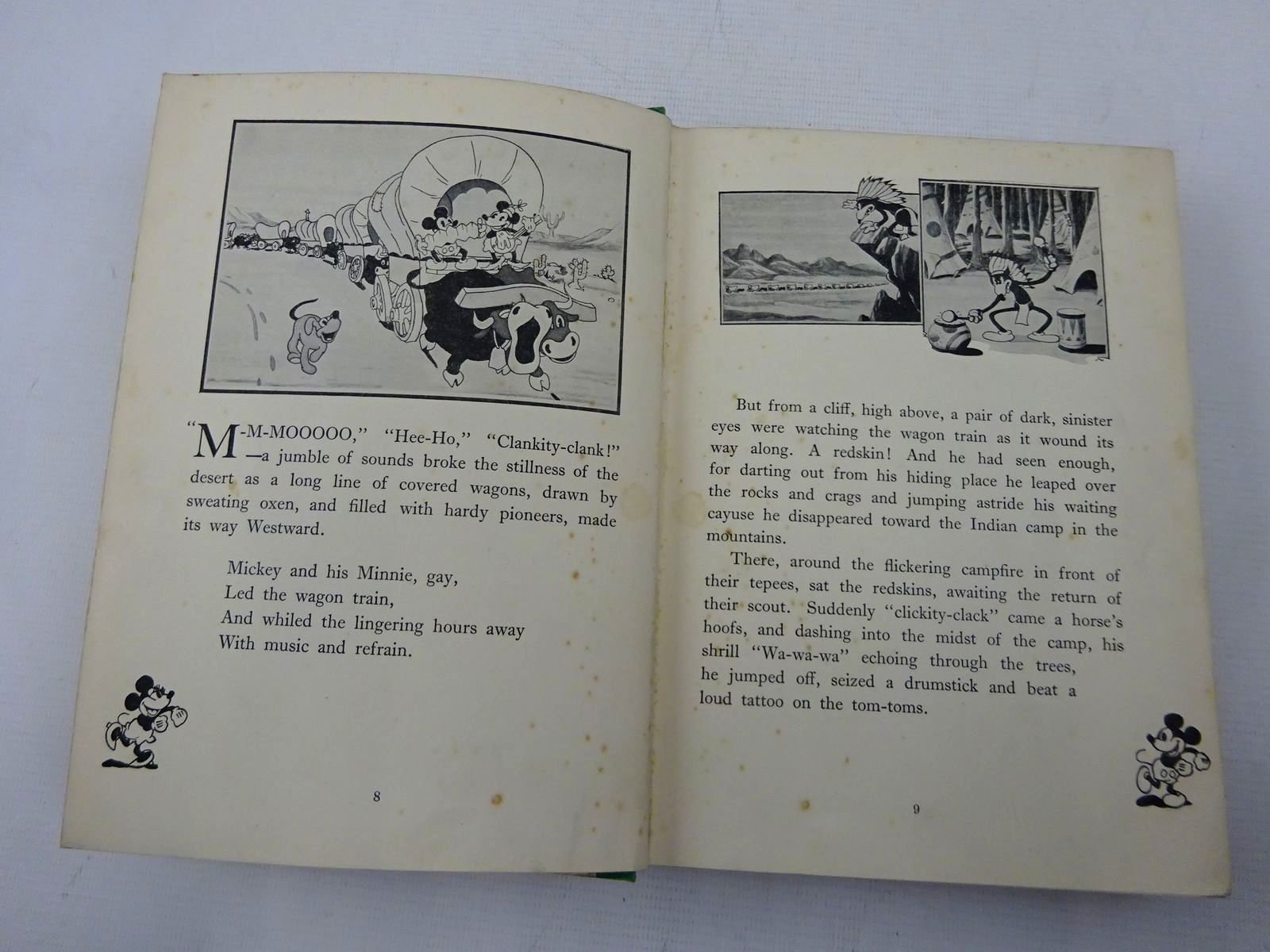 Photo of MICKEY MOUSE MOVIE STORIES written by Disney, Walt illustrated by Disney, Walt published by Dean & Son Ltd. (STOCK CODE: 2128232)  for sale by Stella & Rose's Books