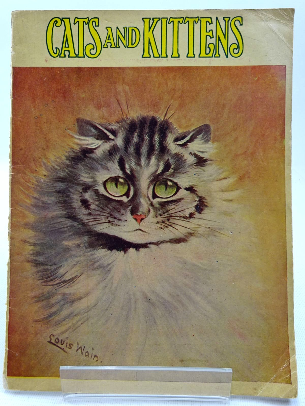 Photo of CATS AND KITTENS written by Mackintosh, Mabel illustrated by Wain, Louis published by John F. Shaw & Co Ltd. (STOCK CODE: 2128233)  for sale by Stella & Rose's Books