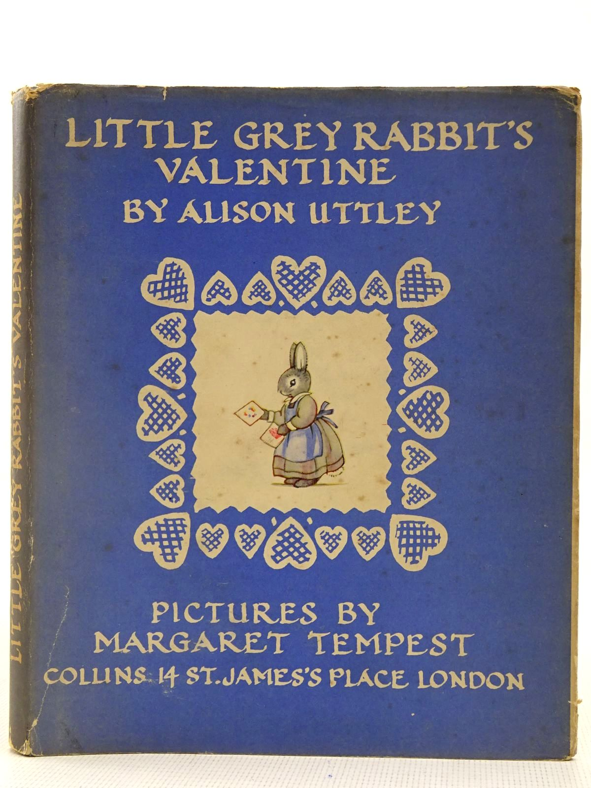 Photo of LITTLE GREY RABBIT'S VALENTINE written by Uttley, Alison illustrated by Tempest, Margaret published by Collins (STOCK CODE: 2128240)  for sale by Stella & Rose's Books