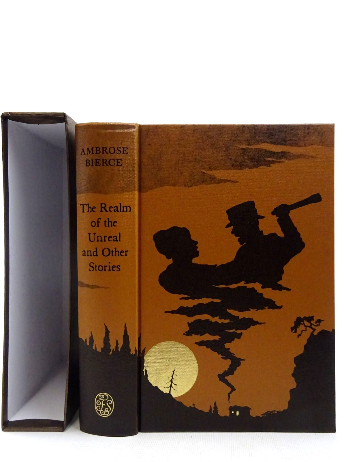 Photo of THE REALM OF THE UNREAL AND OTHER STORIES written by Bierce, Ambrose<br />Self, Will illustrated by Sissons, Nathan published by Folio Society (STOCK CODE: 2128263)  for sale by Stella & Rose's Books
