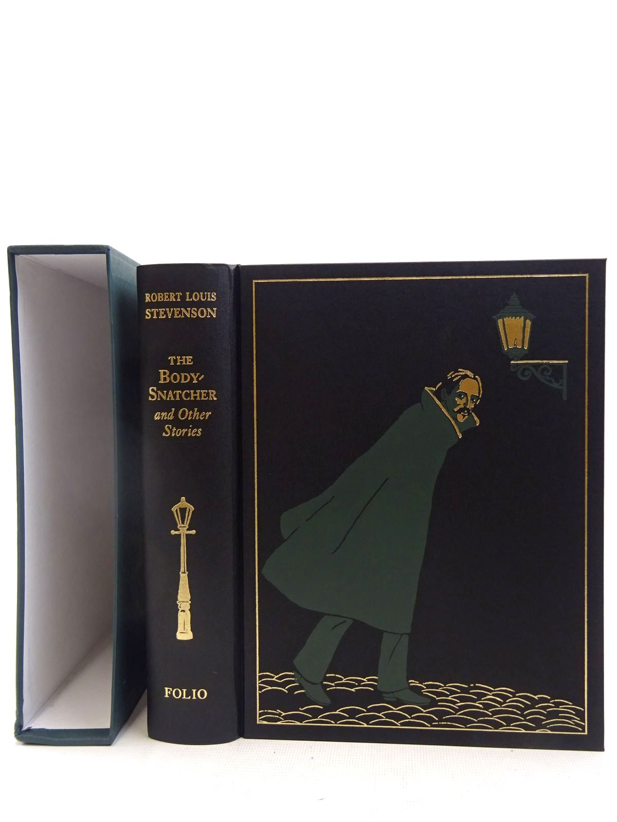 Photo of THE BODY-SNATCHER AND OTHER STORIES written by Stevenson, Robert Louis illustrated by Foreman, Michael published by Folio Society (STOCK CODE: 2128264)  for sale by Stella & Rose's Books