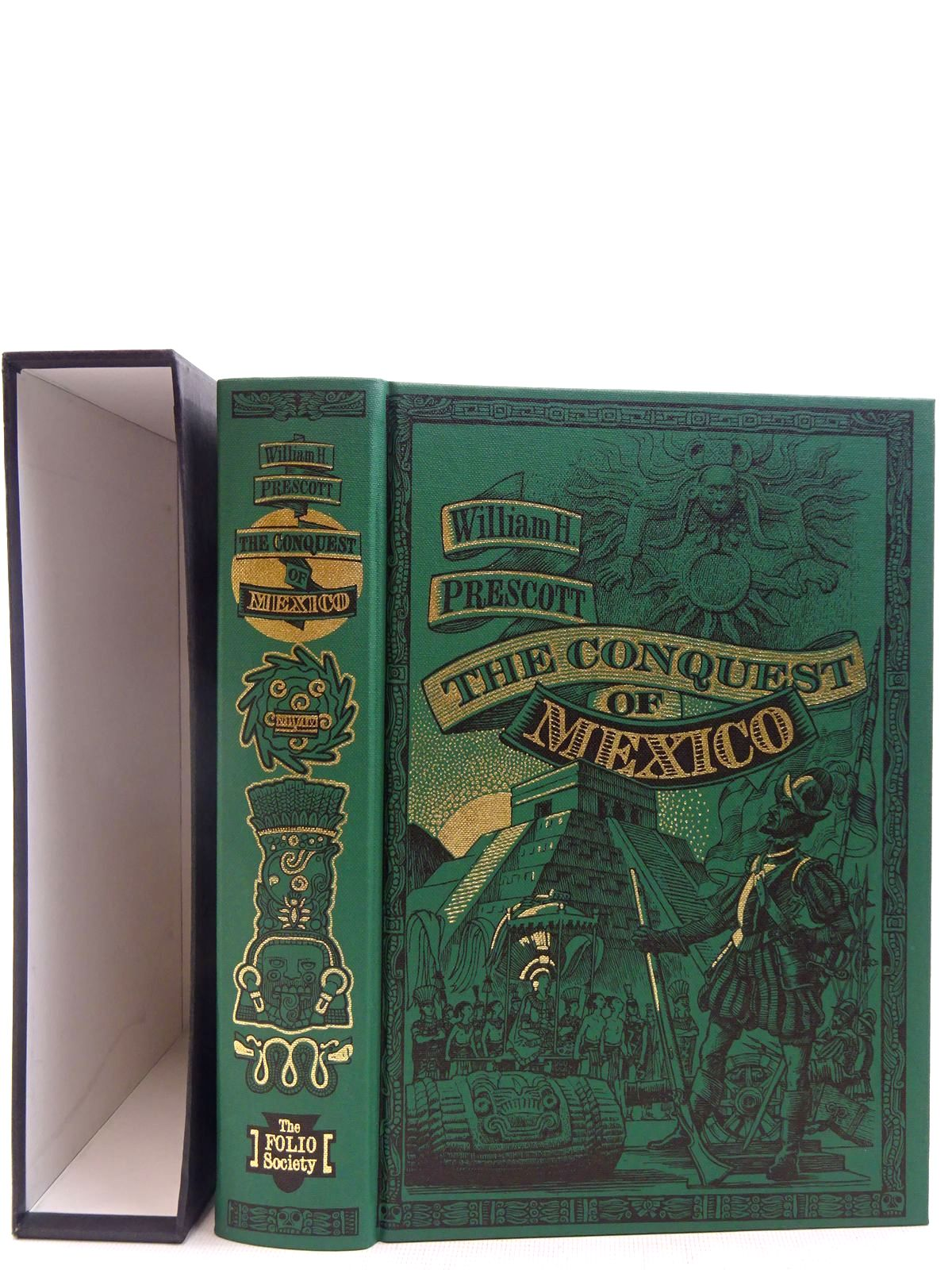 Photo of HISTORY OF THE CONQUEST OF MEXICO written by Prescott, William H. published by Folio Society (STOCK CODE: 2128298)  for sale by Stella & Rose's Books