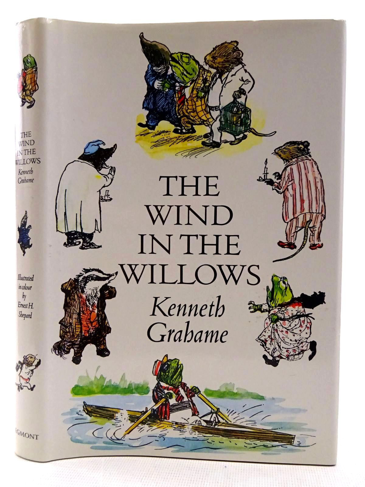 Photo of THE WIND IN THE WILLOWS written by Grahame, Kenneth illustrated by Shepard, E.H. published by Egmont Books Ltd. (STOCK CODE: 2128341)  for sale by Stella & Rose's Books