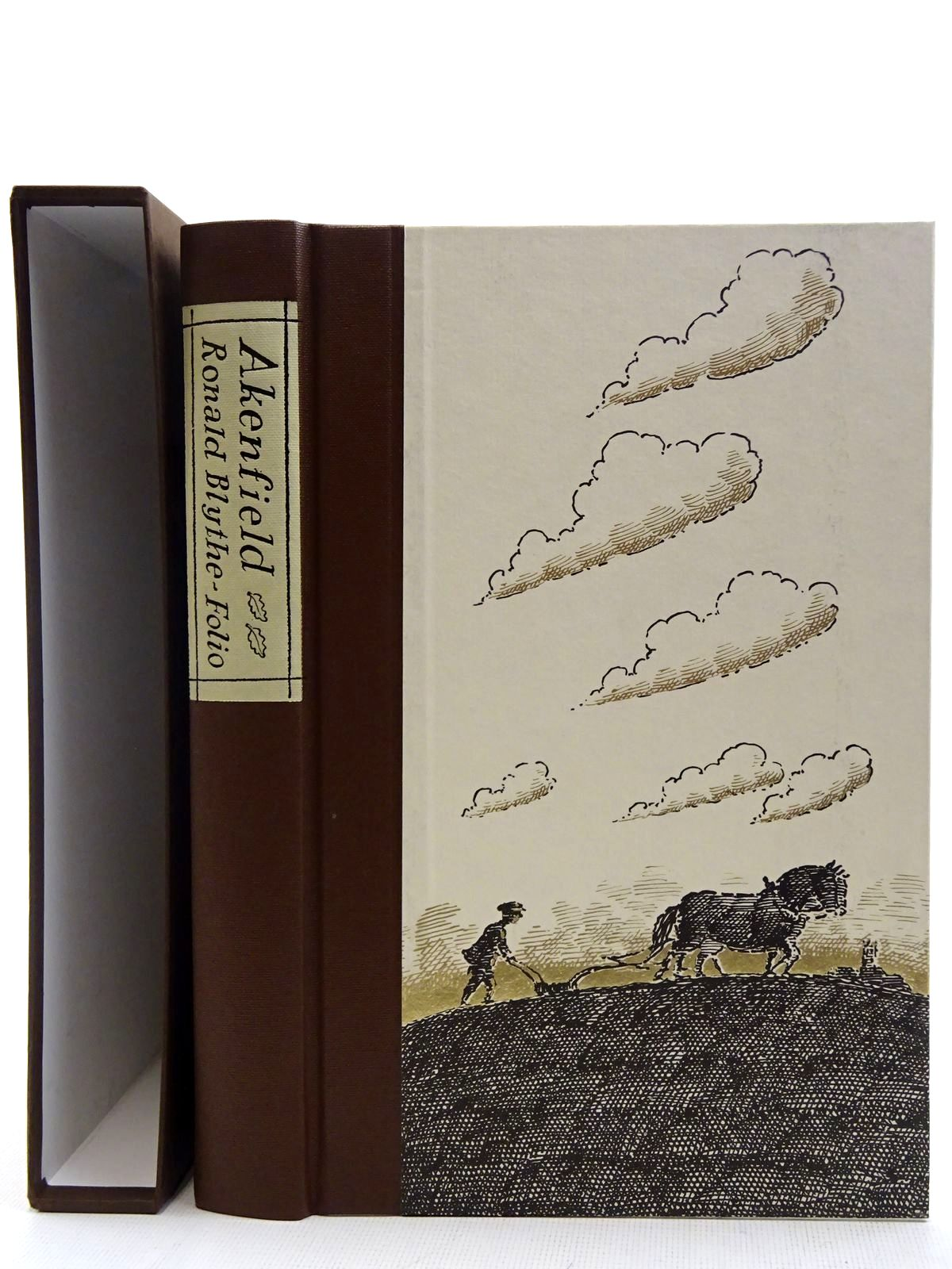 Photo of AKENFIELD written by Blythe, Ronald illustrated by Bailey, Peter published by Folio Society (STOCK CODE: 2128383)  for sale by Stella & Rose's Books