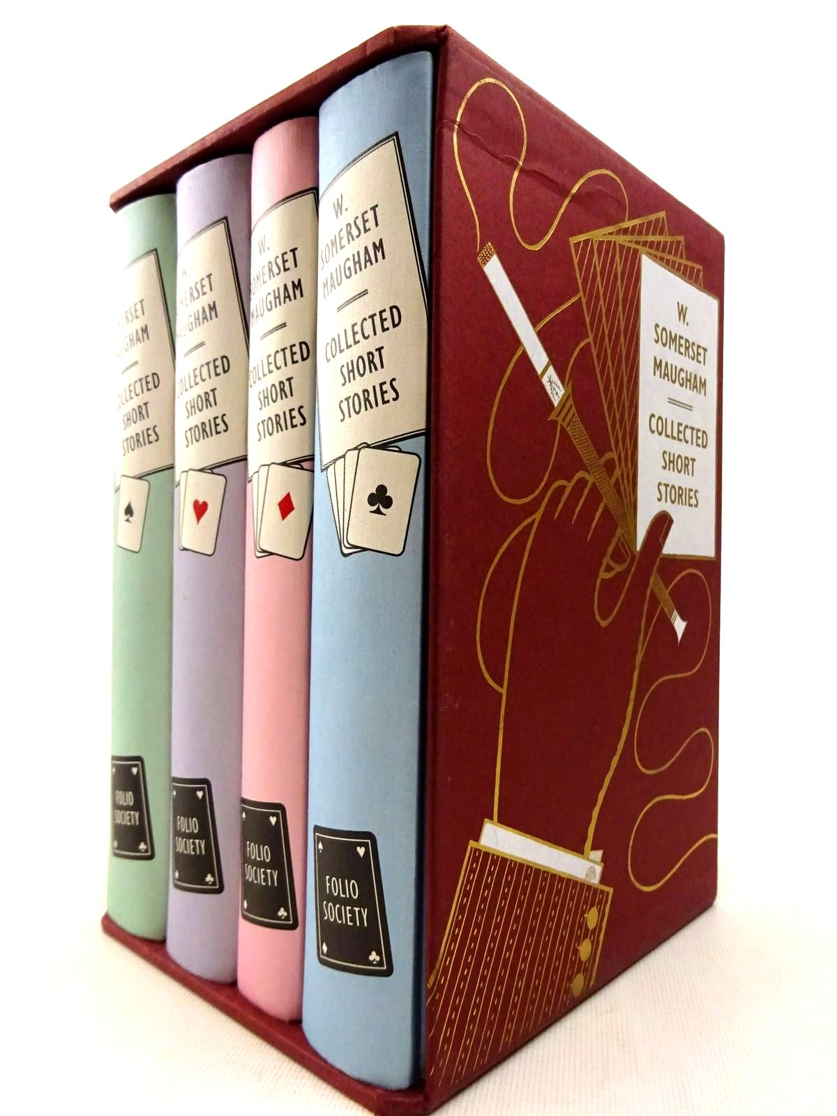 Photo of COLLECTED SHORT STORIES (4 VOLUMES) written by Maugham, W. Somerset illustrated by Brown, Christopher published by Folio Society (STOCK CODE: 2128425)  for sale by Stella & Rose's Books