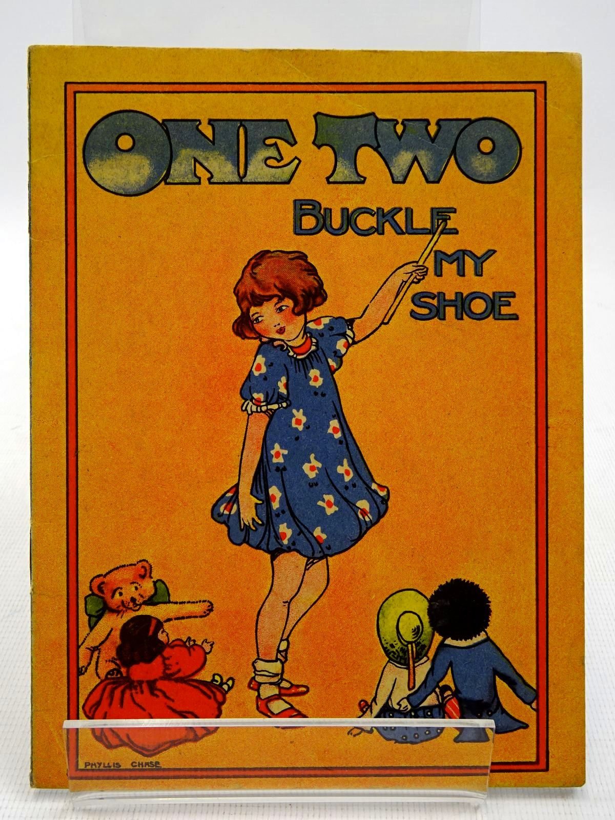 Photo of ONE TWO BUCKLE MY SHOE illustrated by Chase, Phyllis (STOCK CODE: 2128457)  for sale by Stella & Rose's Books