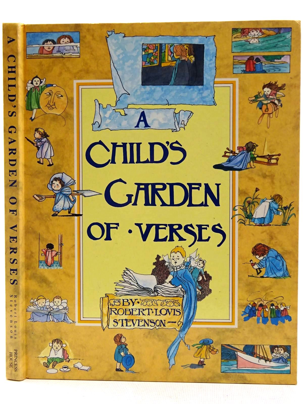 Photo of A CHILD'S GARDEN OF VERSES written by Stevenson, Robert Louis illustrated by Robinson, Charles published by Princess House (STOCK CODE: 2128504)  for sale by Stella & Rose's Books