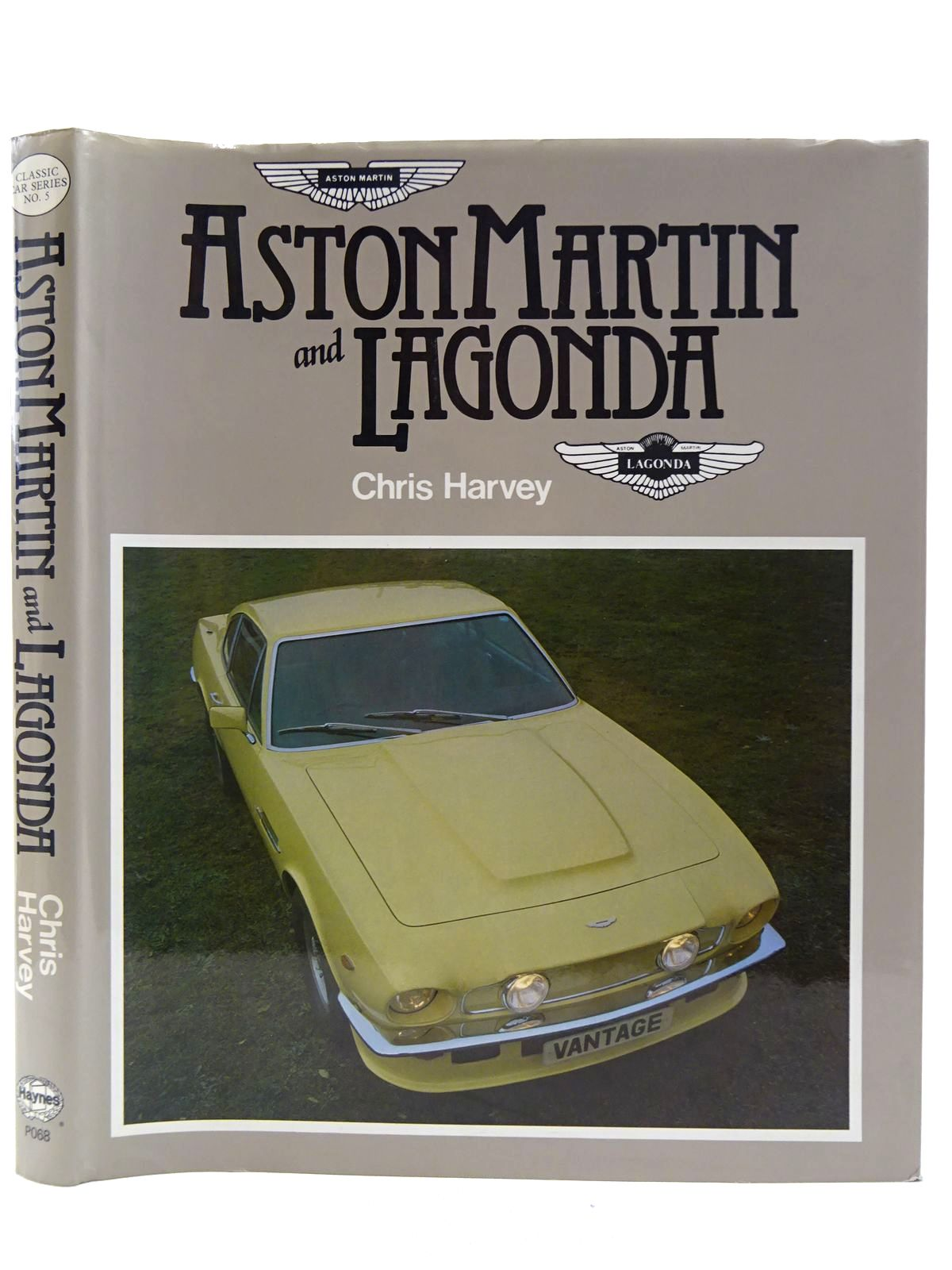 Photo of ASTON MARTIN AND LAGONDA written by Harvey, Chris published by The Oxford Illustrated Press (STOCK CODE: 2128515)  for sale by Stella & Rose's Books