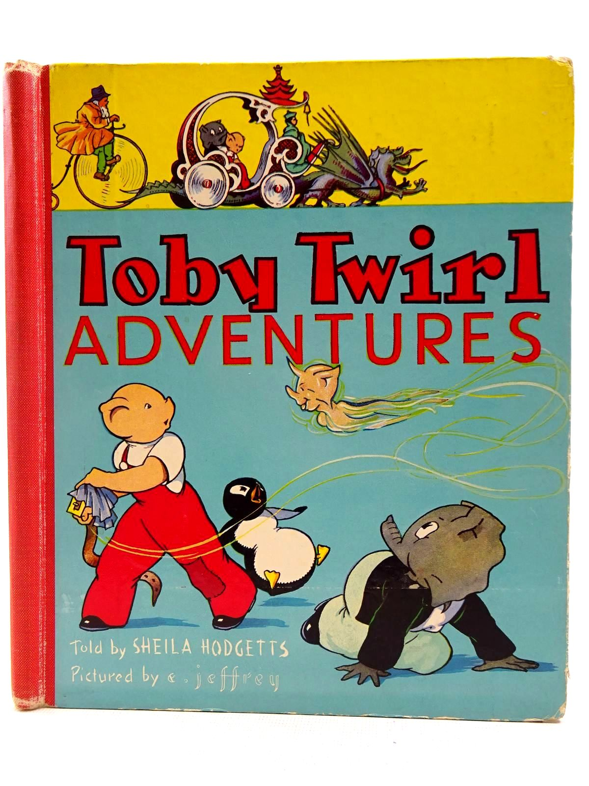 Photo of TOBY TWIRL ADVENTURES written by Hodgetts, Sheila illustrated by Jeffrey, E. published by Sampson Low, Marston & Co. Ltd. (STOCK CODE: 2128534)  for sale by Stella & Rose's Books