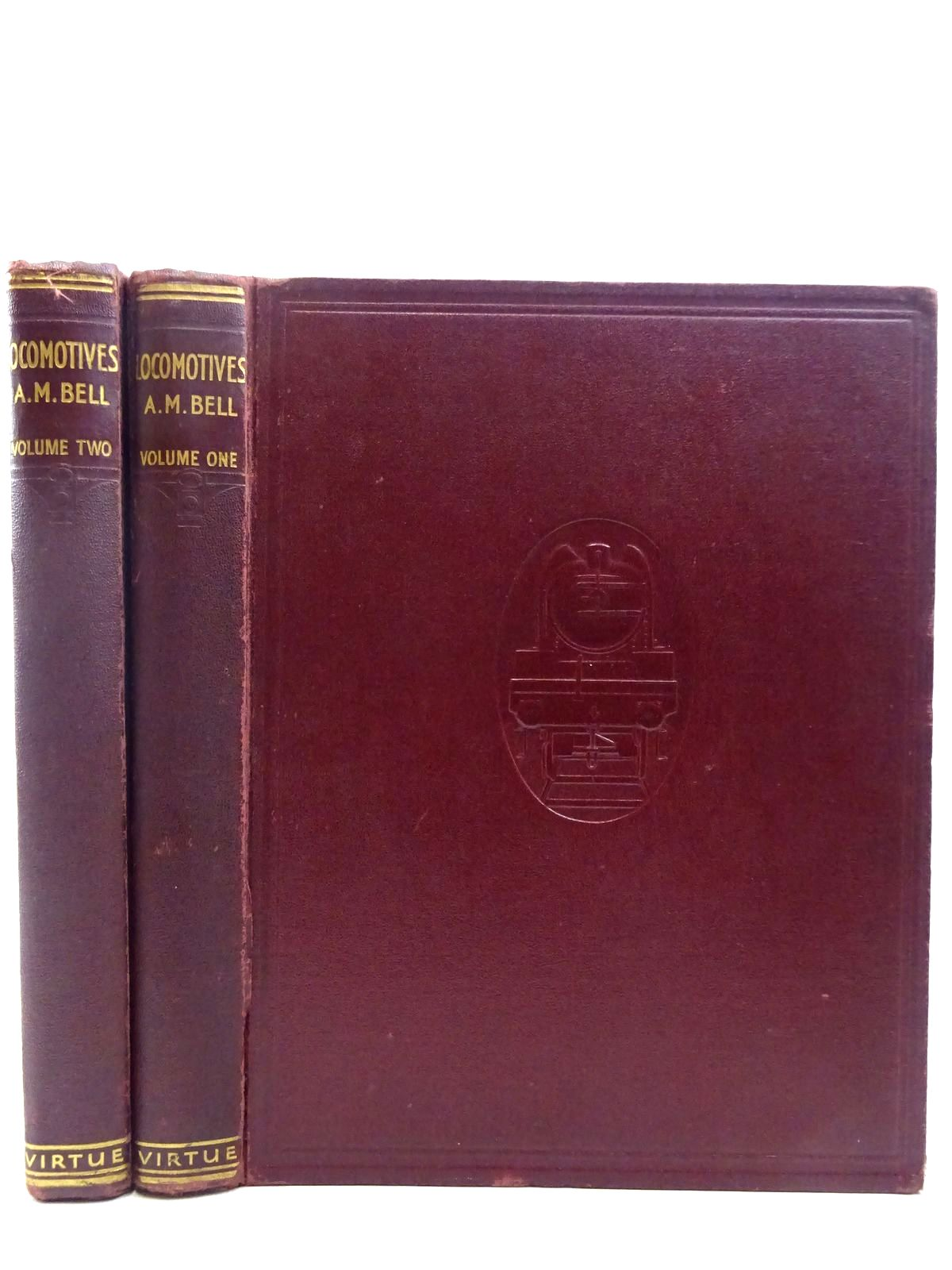 Photo of LOCOMOTIVES (2 VOLUMES) written by Bell, A. Morton published by Virtue & Company Limited (STOCK CODE: 2128558)  for sale by Stella & Rose's Books