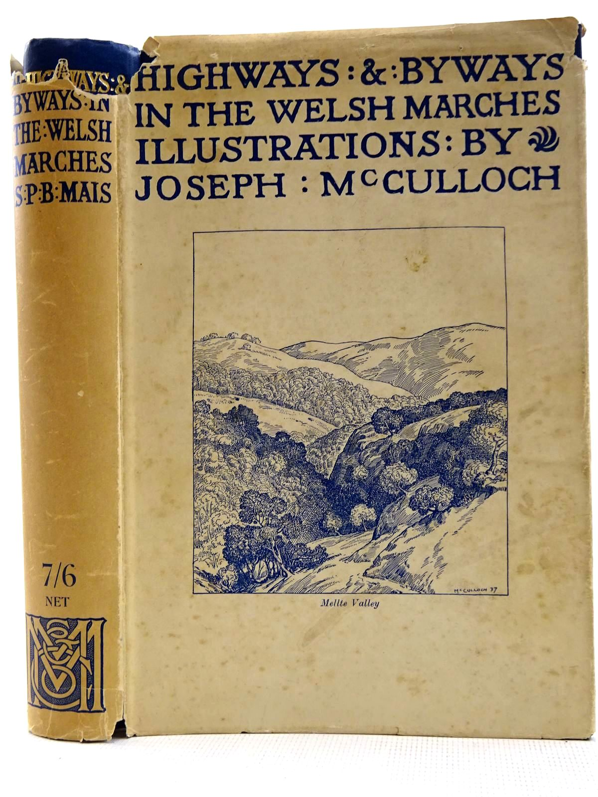 Photo of HIGHWAYS AND BYWAYS IN THE WELSH MARCHES written by Mais, S.P.B. illustrated by McCulloch, Joseph published by Macmillan & Co. Ltd. (STOCK CODE: 2128565)  for sale by Stella & Rose's Books