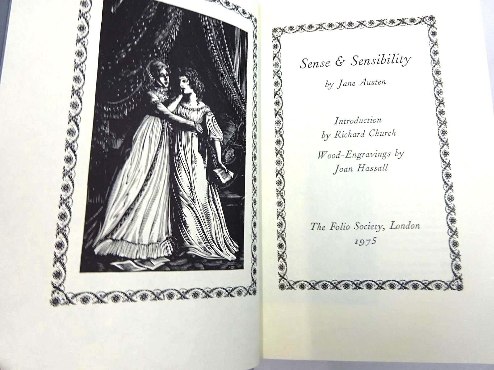 Photo of THE FOLIO JANE AUSTEN written by Austen, Jane illustrated by Hassall, Joan published by Folio Society (STOCK CODE: 2128577)  for sale by Stella & Rose's Books