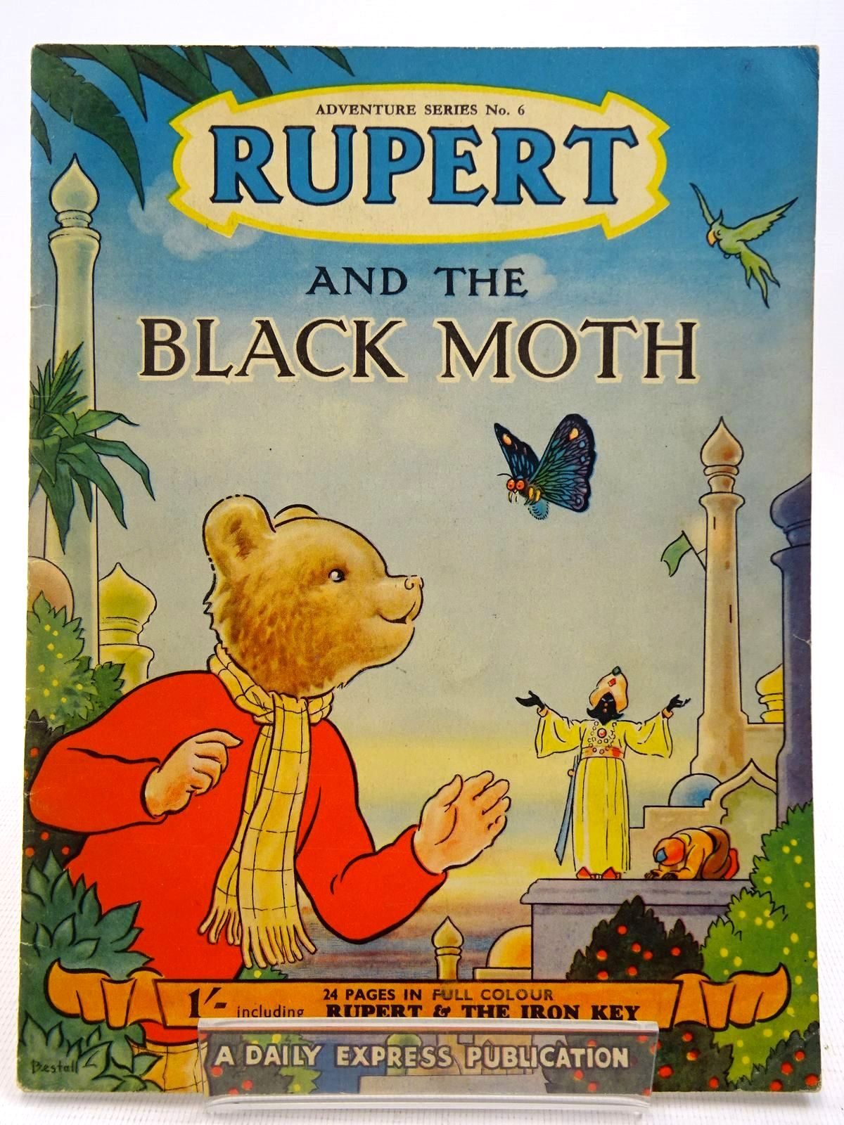 Photo of RUPERT ADVENTURE SERIES No. 6 - RUPERT AND THE BLACK MOTH written by Bestall, Alfred illustrated by Bestall, Alfred published by Daily Express (STOCK CODE: 2128598)  for sale by Stella & Rose's Books