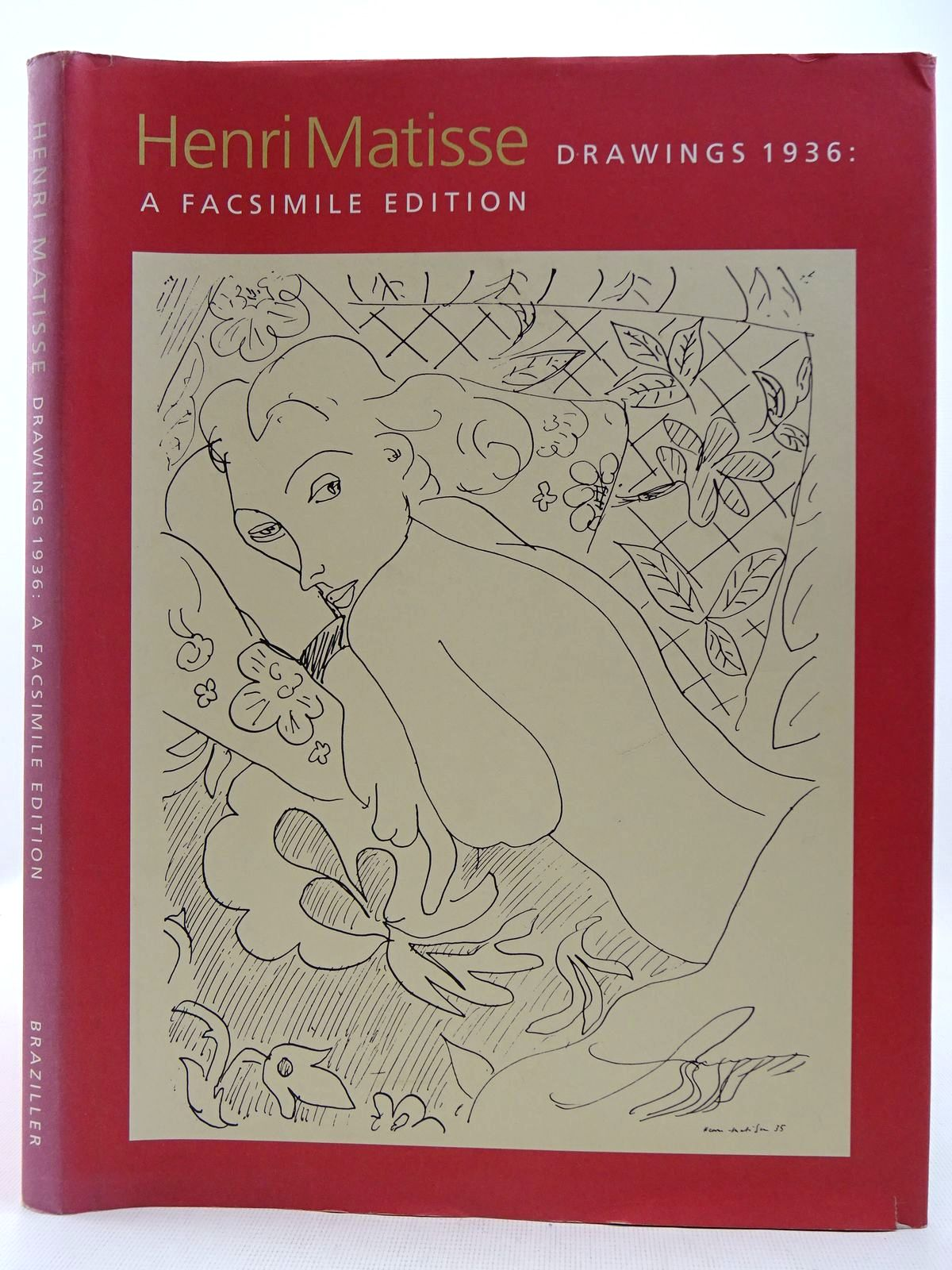 Photo of HENRI MATISSE DRAWINGS 1936: A FASCIMILE EDITION written by Tzara, Tristan<br />Zervos, Christian<br />Howard, Richard illustrated by Matisse, Henri published by George Braziller (STOCK CODE: 2128671)  for sale by Stella & Rose's Books