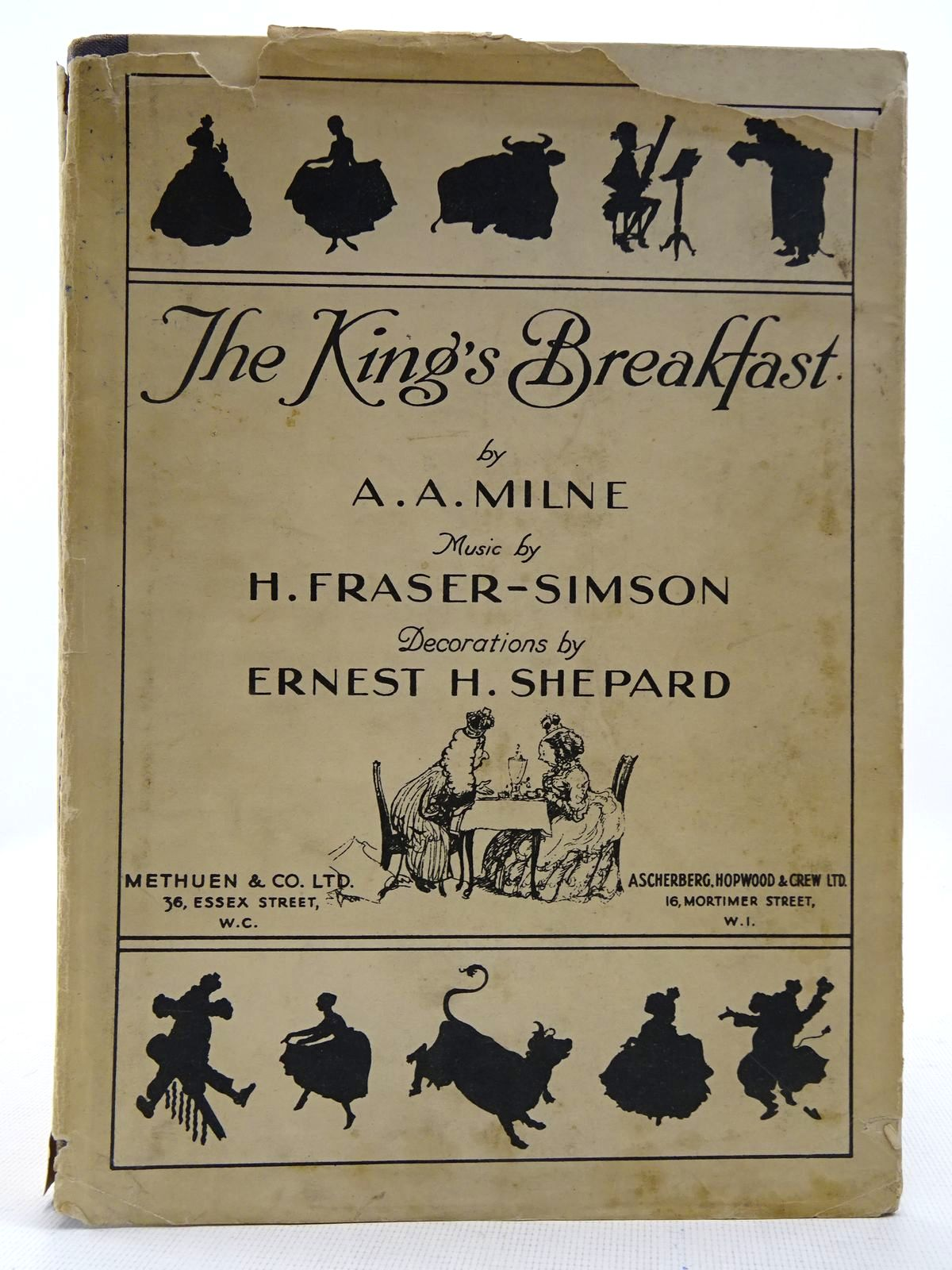 Photo of THE KING'S BREAKFAST written by Milne, A.A.<br />Fraser-Simson, H. illustrated by Shepard, E.H. published by Methuen & Co. Ltd., Ascherberg, Hopwood & Crew Ltd. (STOCK CODE: 2128678)  for sale by Stella & Rose's Books