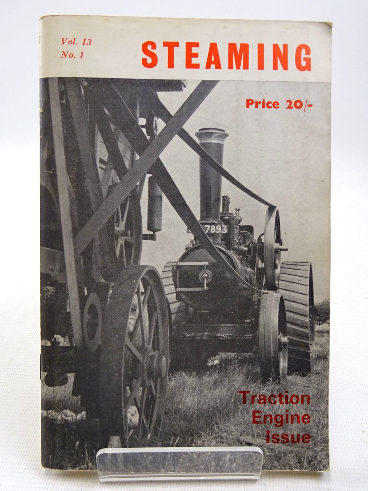 Photo of STEAMING VOL. 13 No. 1 TRACTION ENGINE ISSUE written by Crawley, John<br />Paisley, T.B. published by The National Traction Engine Club Ltd. (STOCK CODE: 2128716)  for sale by Stella & Rose's Books