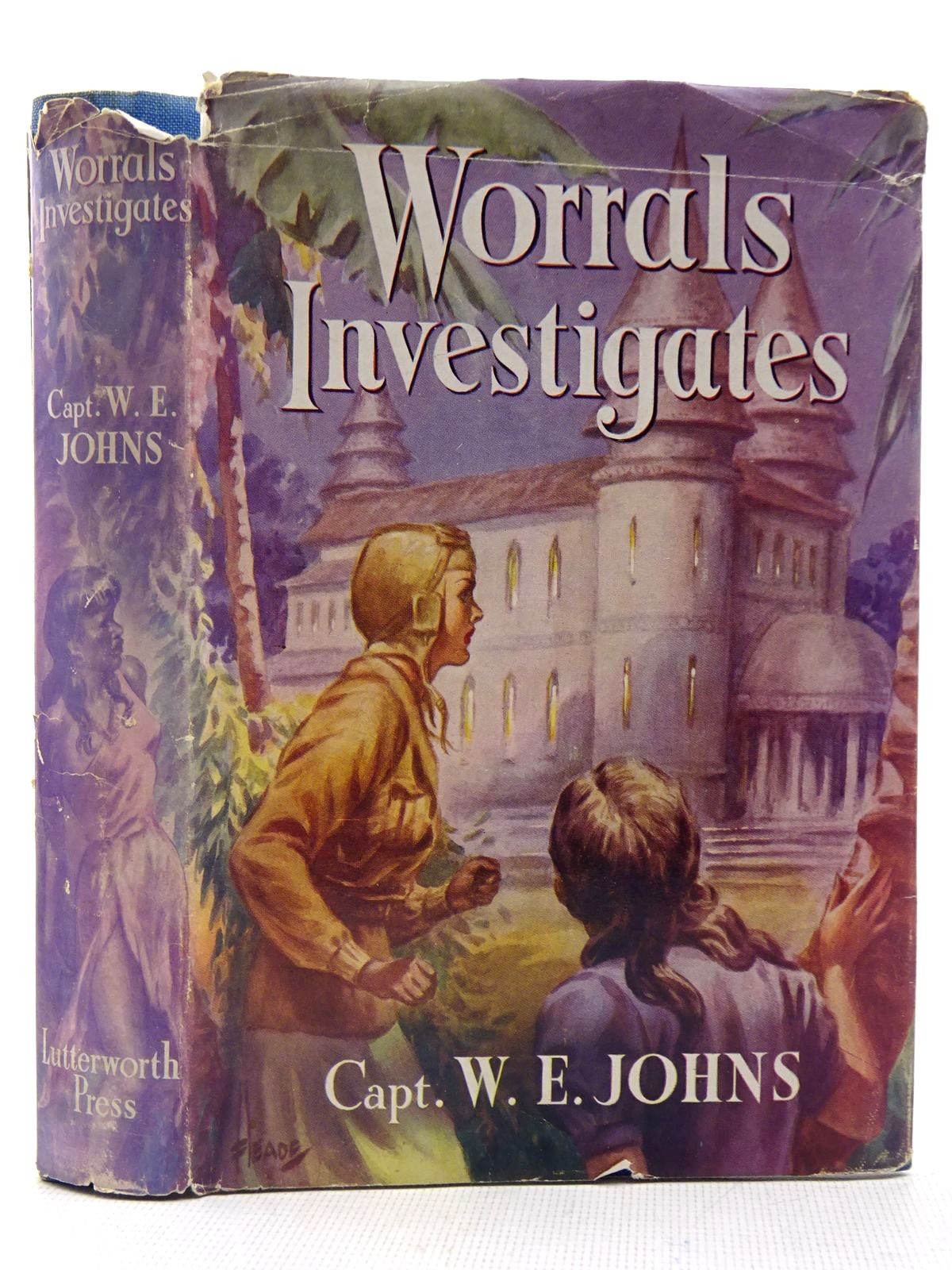 Photo of WORRALS INVESTIGATES written by Johns, W.E. published by Lutterworth Press (STOCK CODE: 2128724)  for sale by Stella & Rose's Books