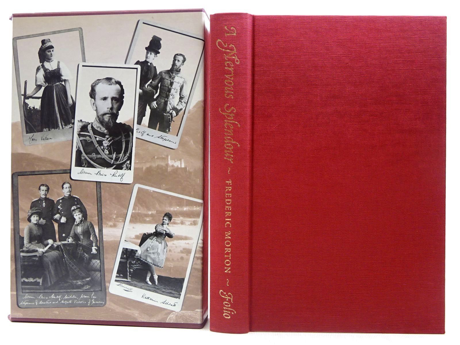 Photo of A NERVOUS SPLENDOR VIENNA 1888-1889 written by Morton, Frederic published by Folio Society (STOCK CODE: 2128734)  for sale by Stella & Rose's Books