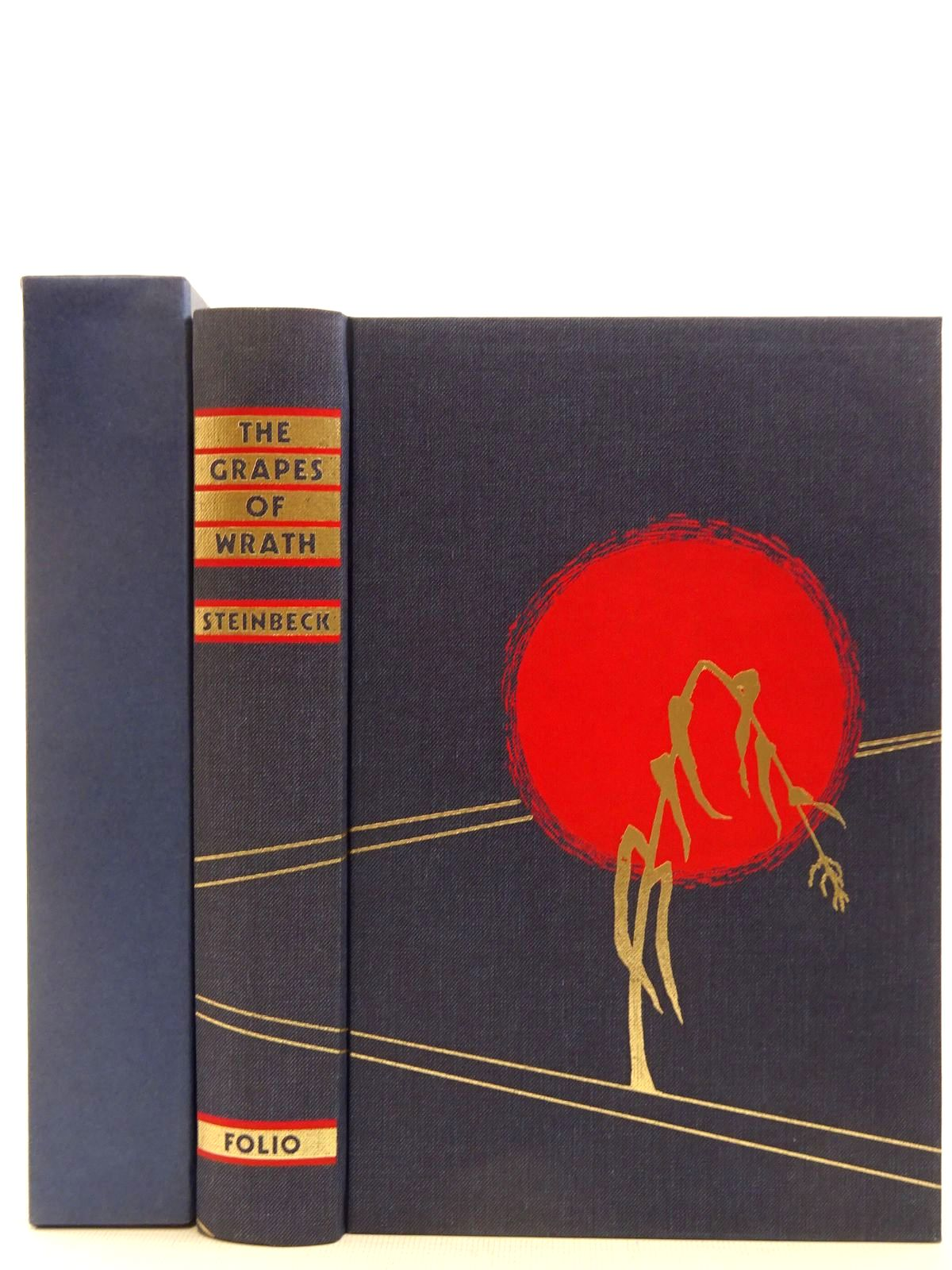 Photo of THE GRAPES OF WRATH written by Steinbeck, John illustrated by Christensen, Bonnie published by Folio Society (STOCK CODE: 2128742)  for sale by Stella & Rose's Books