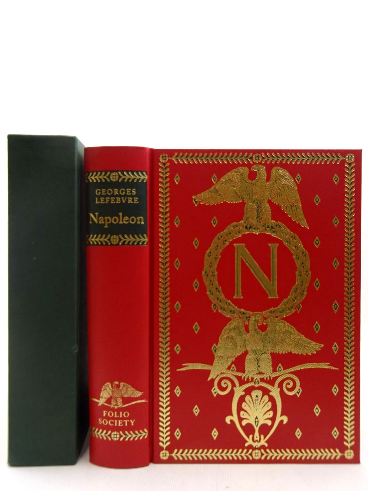 Photo of NAPOLEON written by Lefebvre, Georges published by Folio Society (STOCK CODE: 2128747)  for sale by Stella & Rose's Books