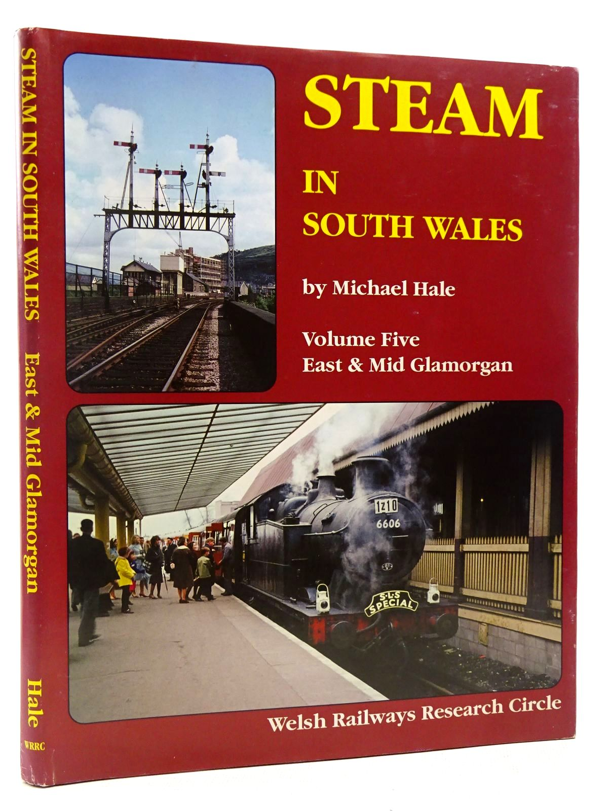Photo of STEAM IN SOUTH WALES VOLUME FIVE - EAST AND MID GLAMORGAN written by Hale, Michael published by Welsh Railways Research Circle (STOCK CODE: 2128843)  for sale by Stella & Rose's Books
