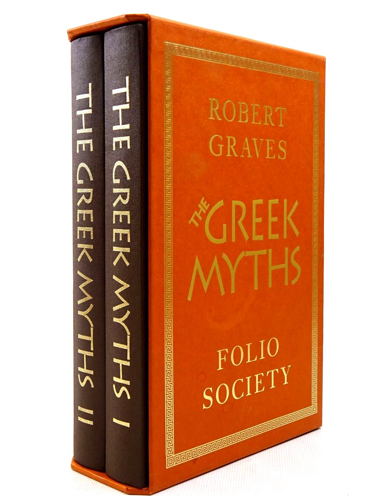 Photo of THE GREEK MYTHS (2 VOLUMES) written by Graves, Robert<br />Mcleish, Kenneth illustrated by Baker, Grahame published by Folio Society (STOCK CODE: 2128932)  for sale by Stella & Rose's Books