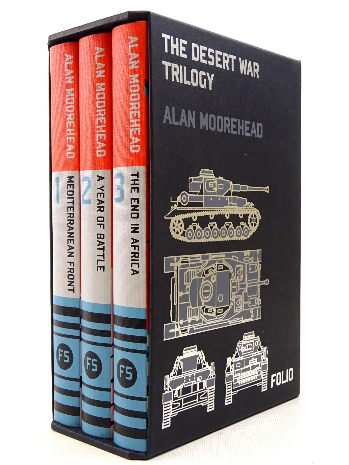 Photo of THE DESERT WAR TRILOGY (3 VOLUMES) written by Moorehead, Alan published by Folio Society (STOCK CODE: 2128961)  for sale by Stella & Rose's Books