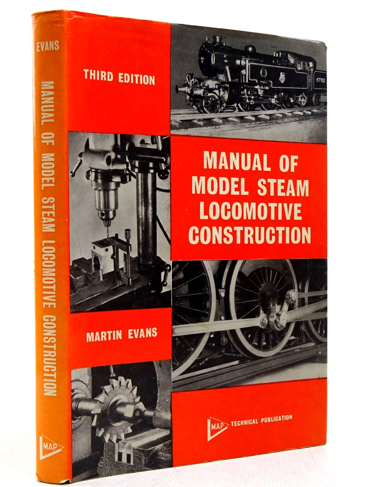 Photo of MANUAL OF MODEL STEAM LOCOMOTIVE CONSTRUCTION written by Evans, Martin published by Model & Allied Publications (STOCK CODE: 2128999)  for sale by Stella & Rose's Books