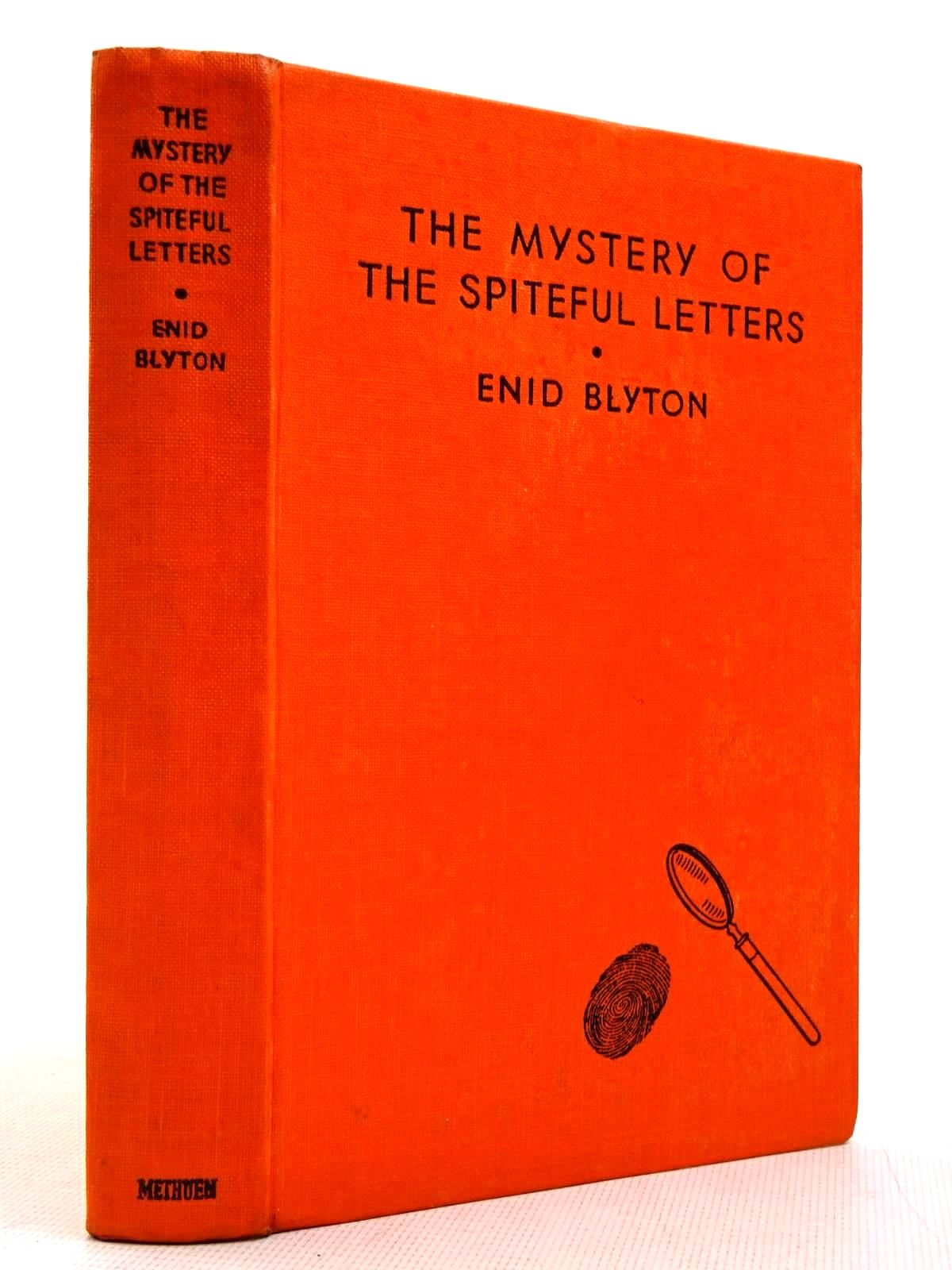 Photo of THE MYSTERY OF THE SPITEFUL LETTERS written by Blyton, Enid illustrated by Abbey, J. published by Methuen & Co. Ltd. (STOCK CODE: 2129016)  for sale by Stella & Rose's Books
