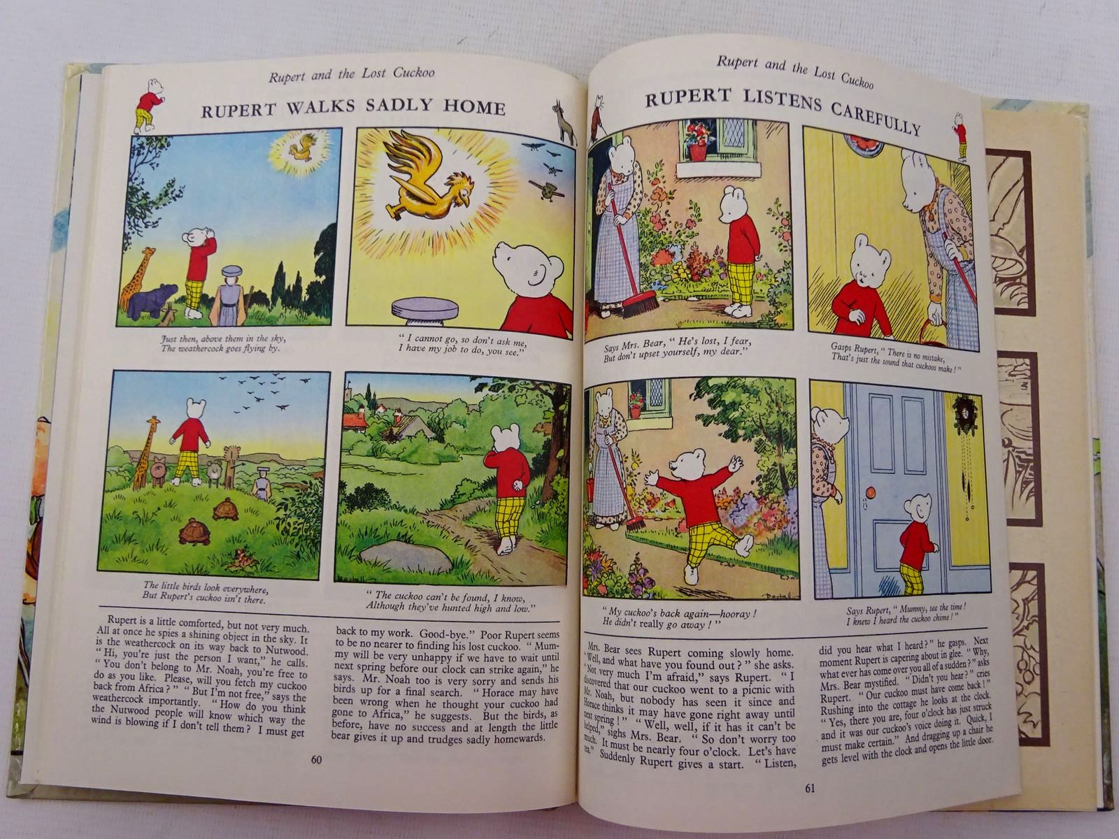Photo of RUPERT ANNUAL 1963 written by Bestall, Alfred illustrated by Bestall, Alfred published by Daily Express (STOCK CODE: 2129018)  for sale by Stella & Rose's Books