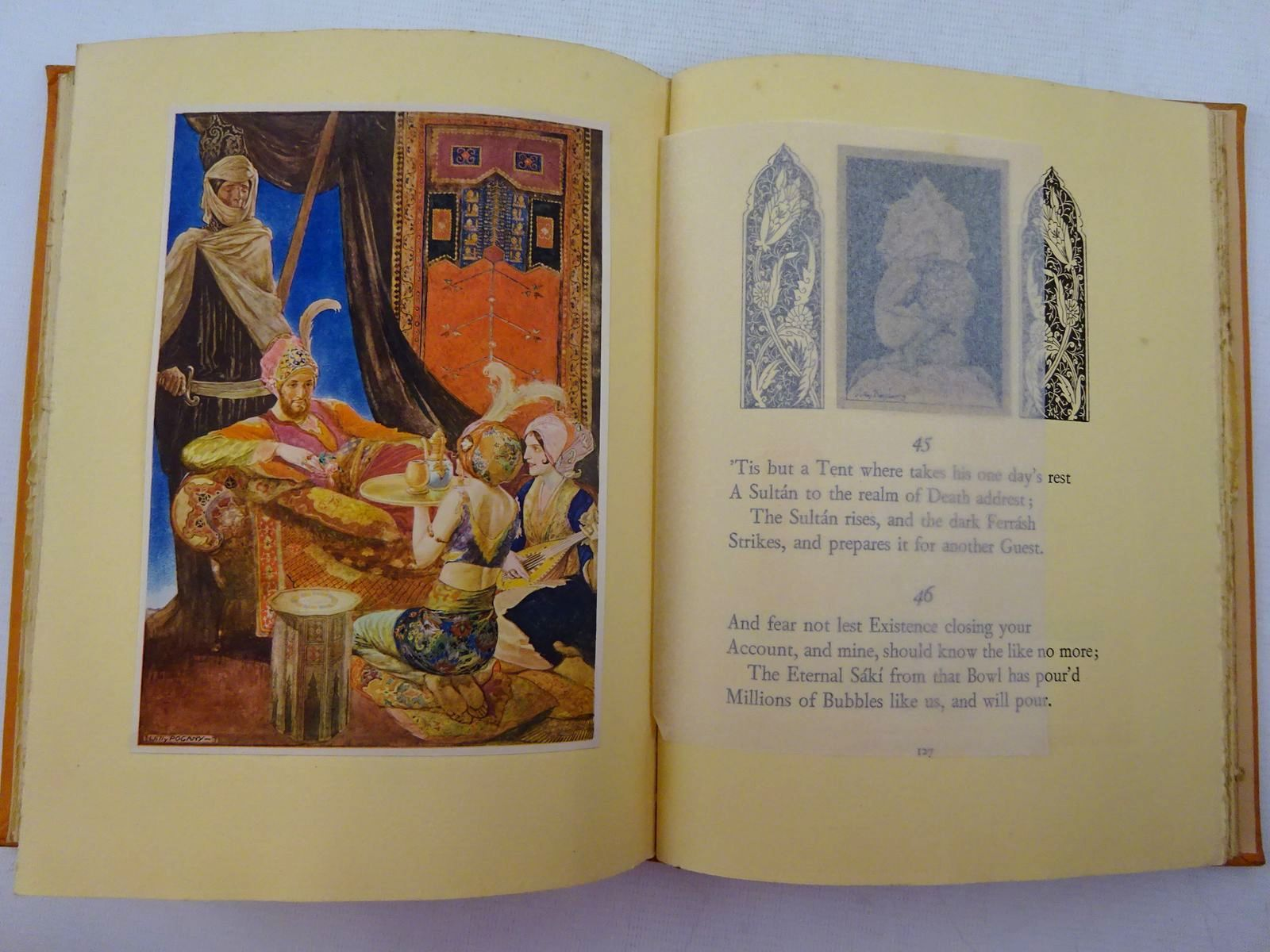 Photo of RUBAIYAT OF OMAR KHAYYAM written by Fitzgerald, Edward illustrated by Pogany, Willy published by George G. Harrap & Co. Ltd. (STOCK CODE: 2129019)  for sale by Stella & Rose's Books